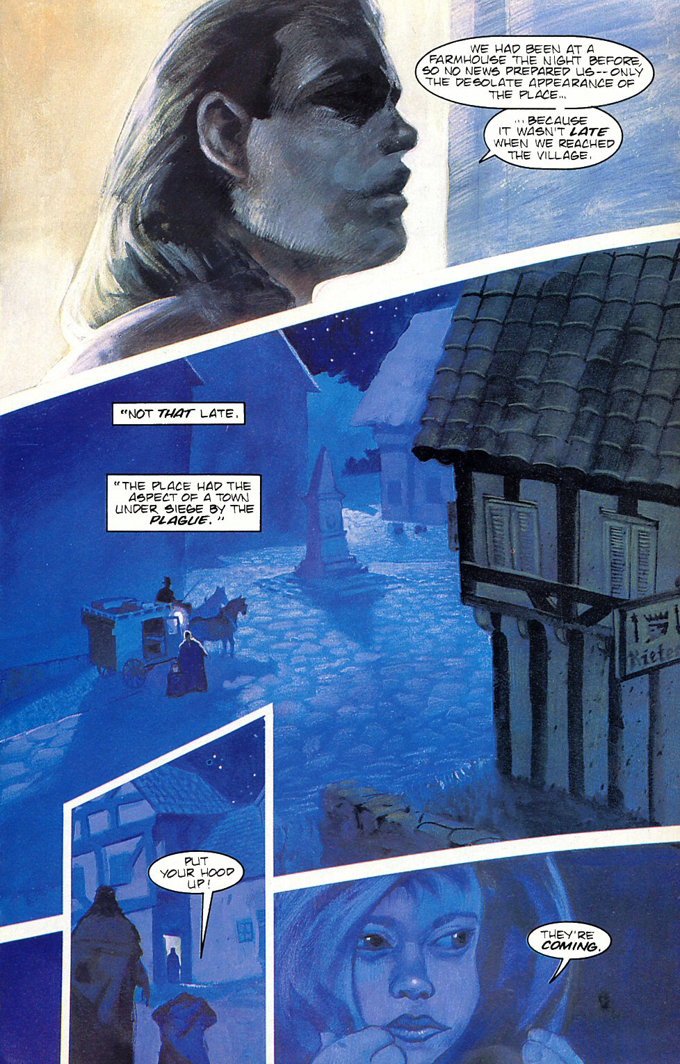Read online Anne Rice's Interview with the Vampire comic -  Issue #6 - 21