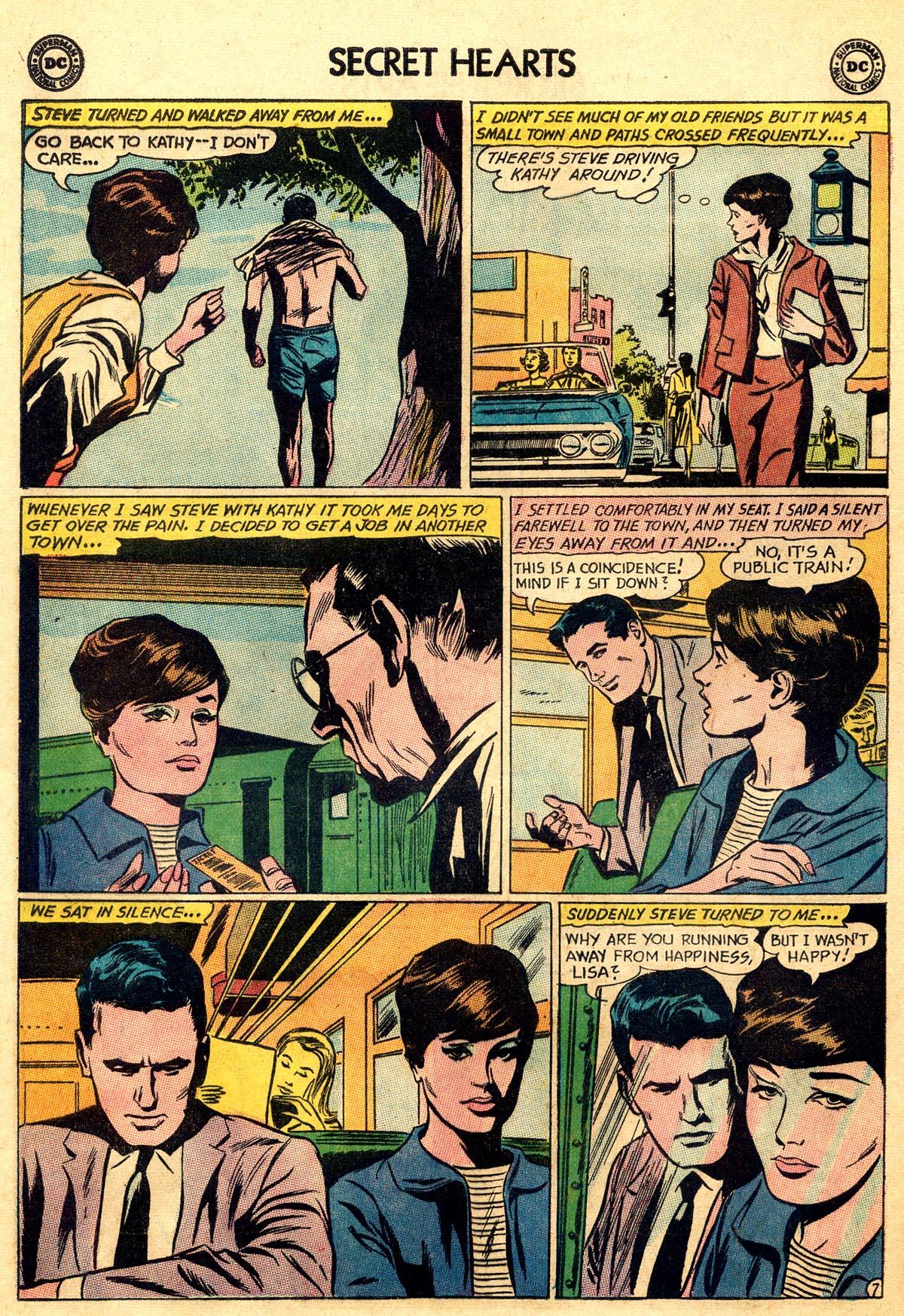 Read online Secret Hearts comic -  Issue #93 - 16