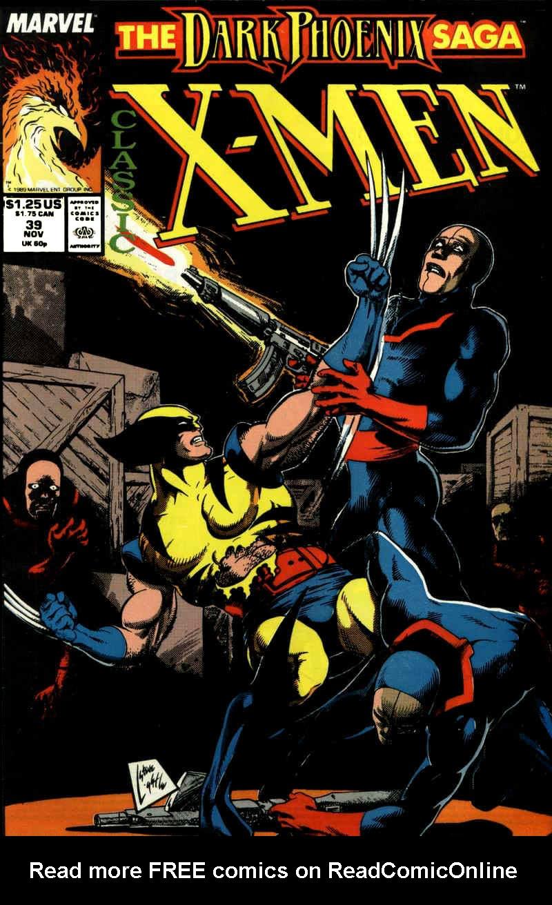 Classic X-Men 39 Page 1