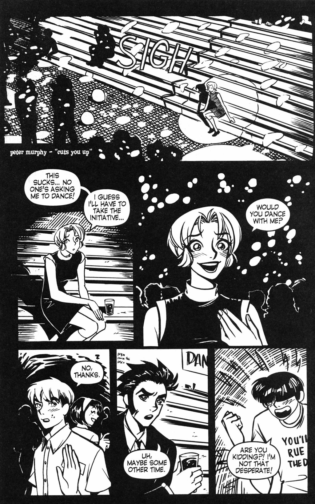 Read online Blue Monday: Painted Moon comic -  Issue #3 - 3