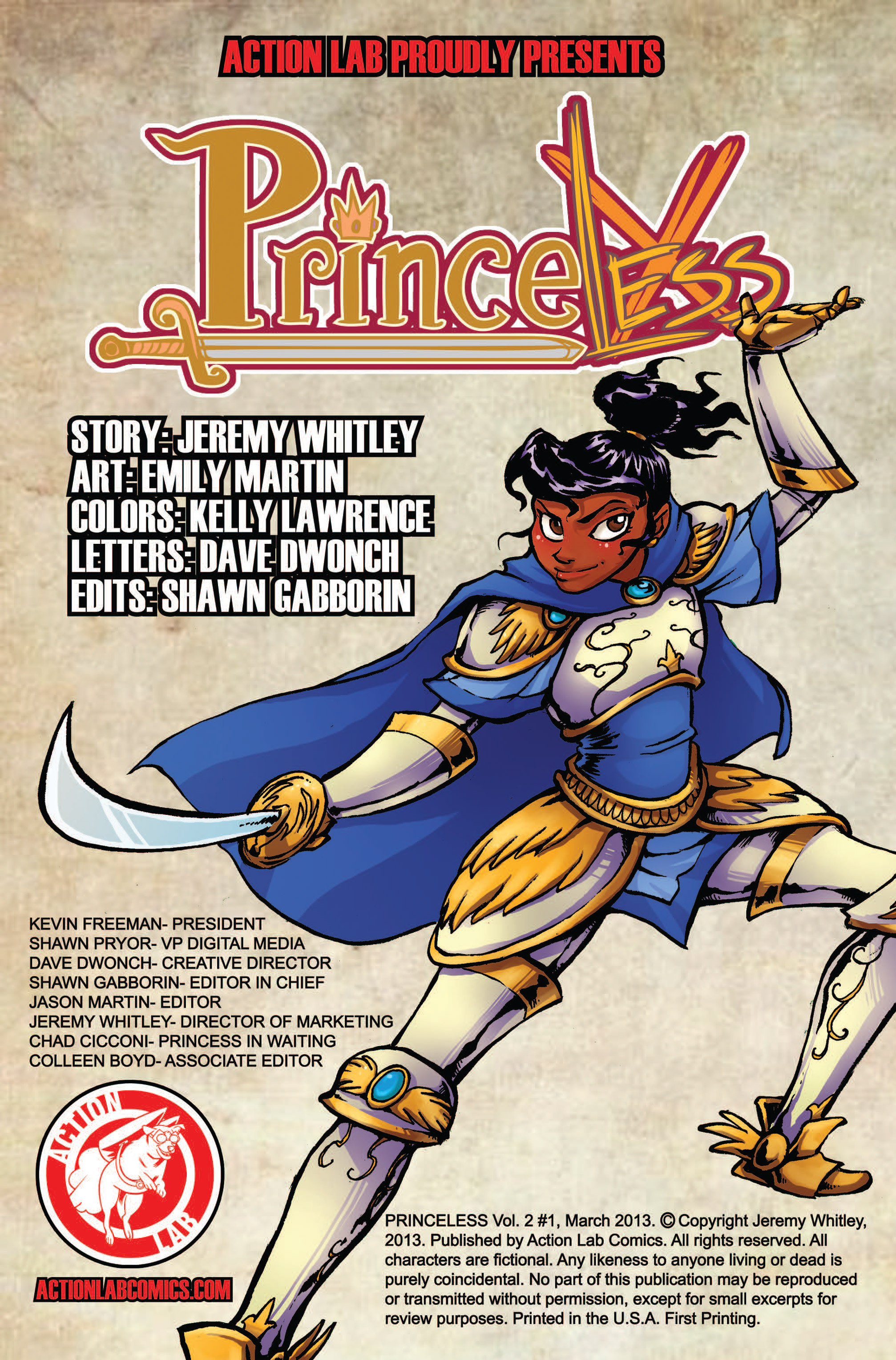 Princeless Vol 2 #4 #4 - English 25