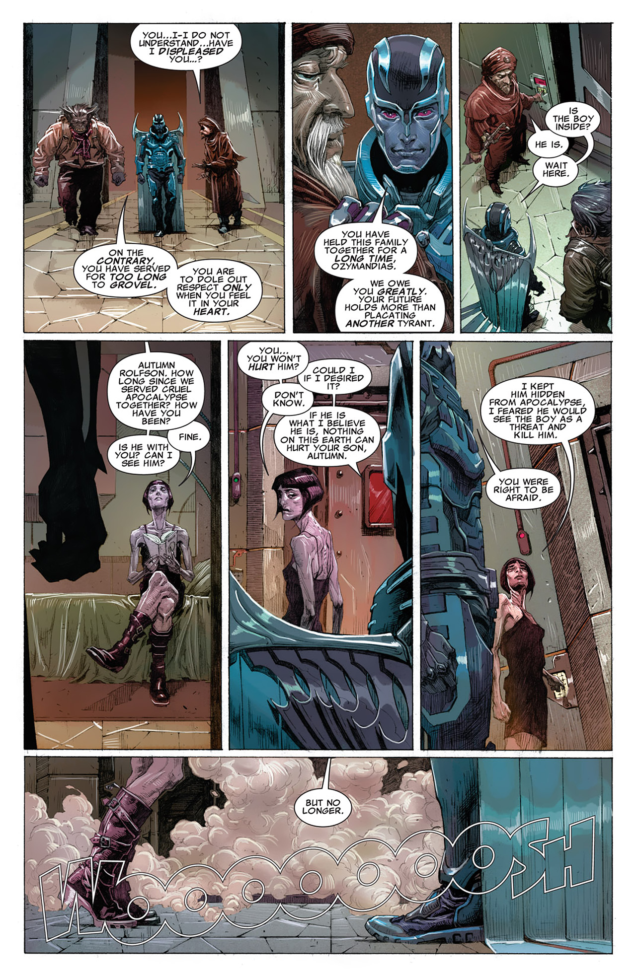 Read online Uncanny X-Force (2010) comic -  Issue #14 - 5