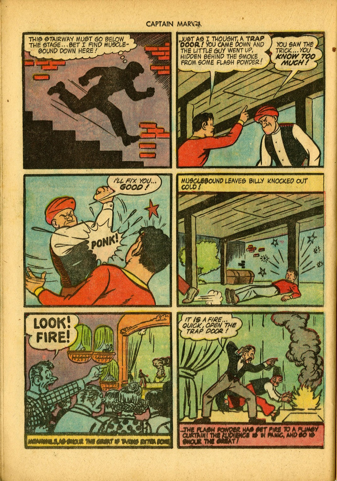 Captain Marvel Adventures issue 34 - Page 44
