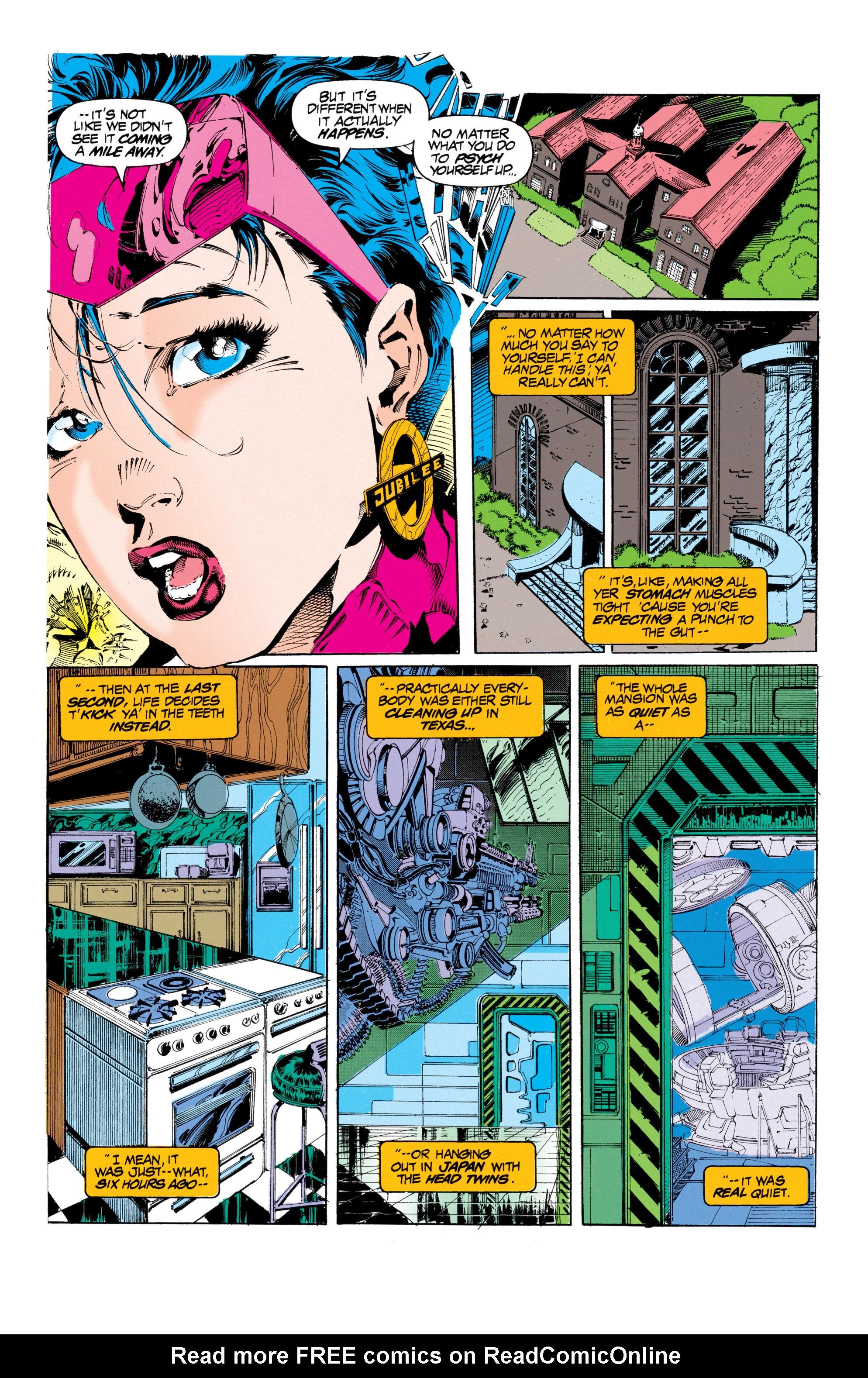 Read online Uncanny X-Men (1963) comic -  Issue #303 - 5