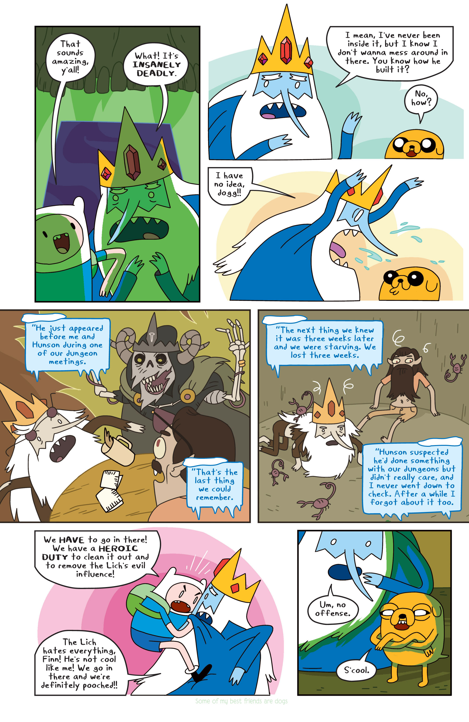 Read online Adventure Time comic -  Issue #18 - 14