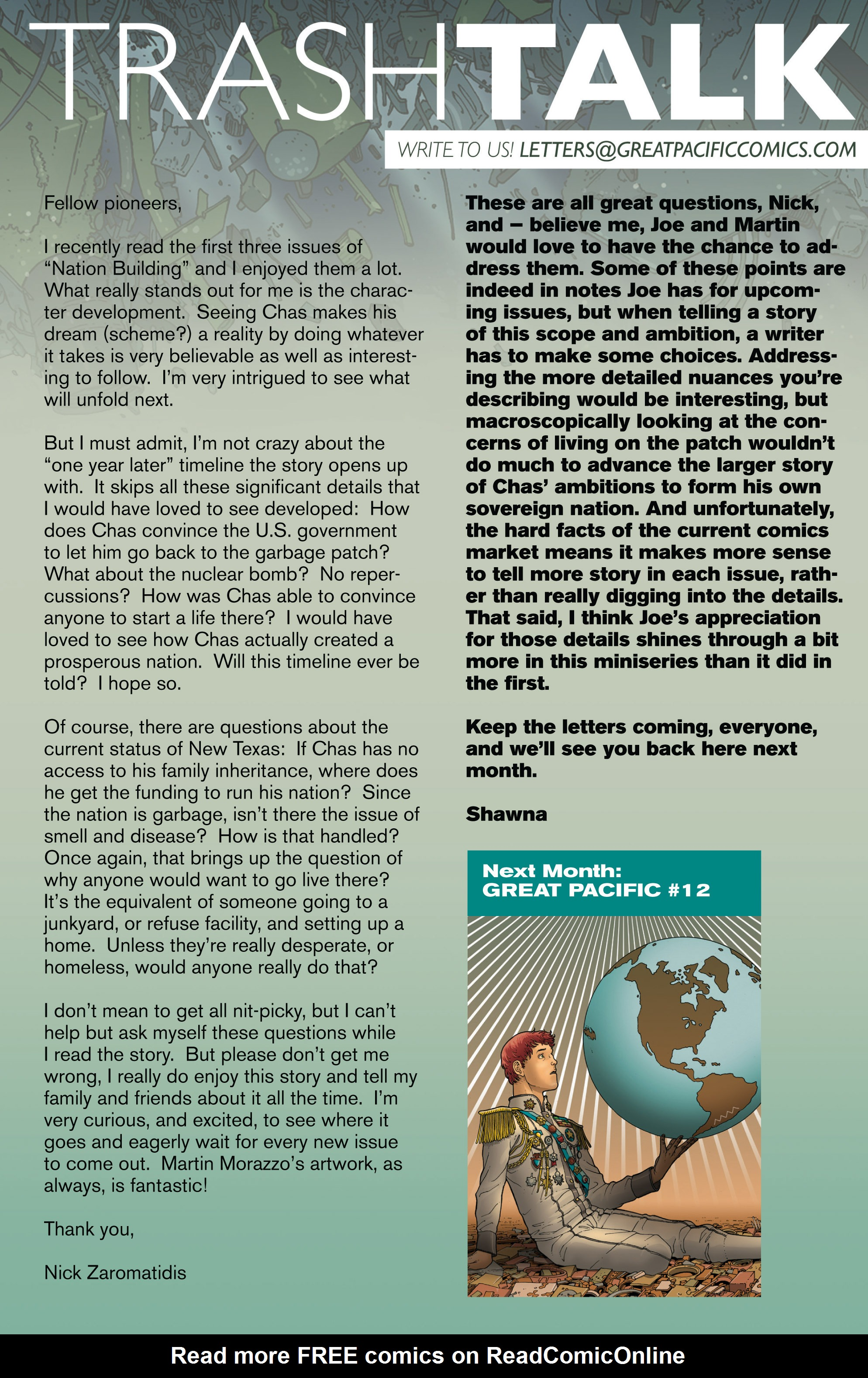 Read online Great Pacific comic -  Issue #11 - 24