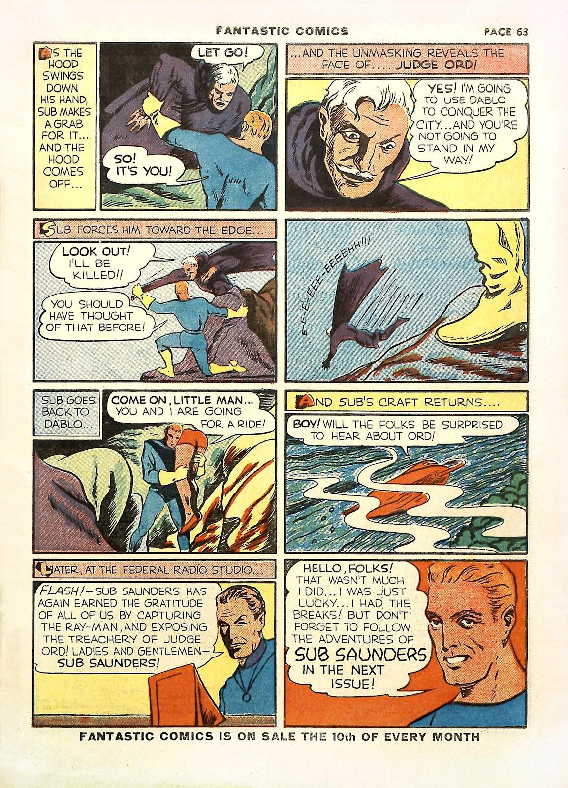 Read online Fantastic Comics comic -  Issue #11 - 66