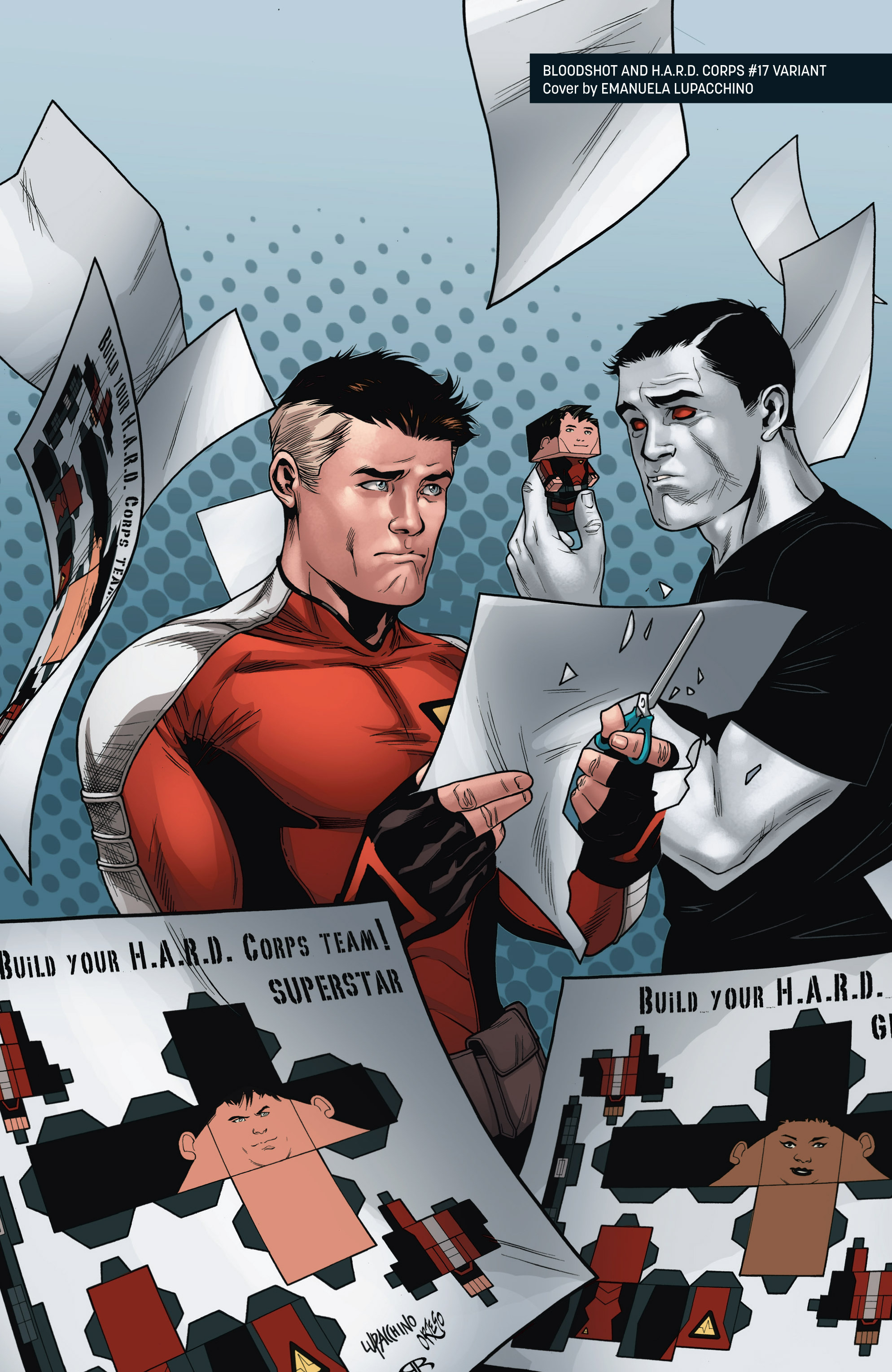 Read online Bloodshot and H.A.R.D.Corps comic -  Issue # TPB 4 - 126