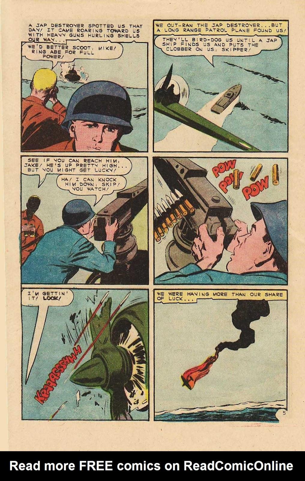 Read online Fightin' Navy comic -  Issue #121 - 32