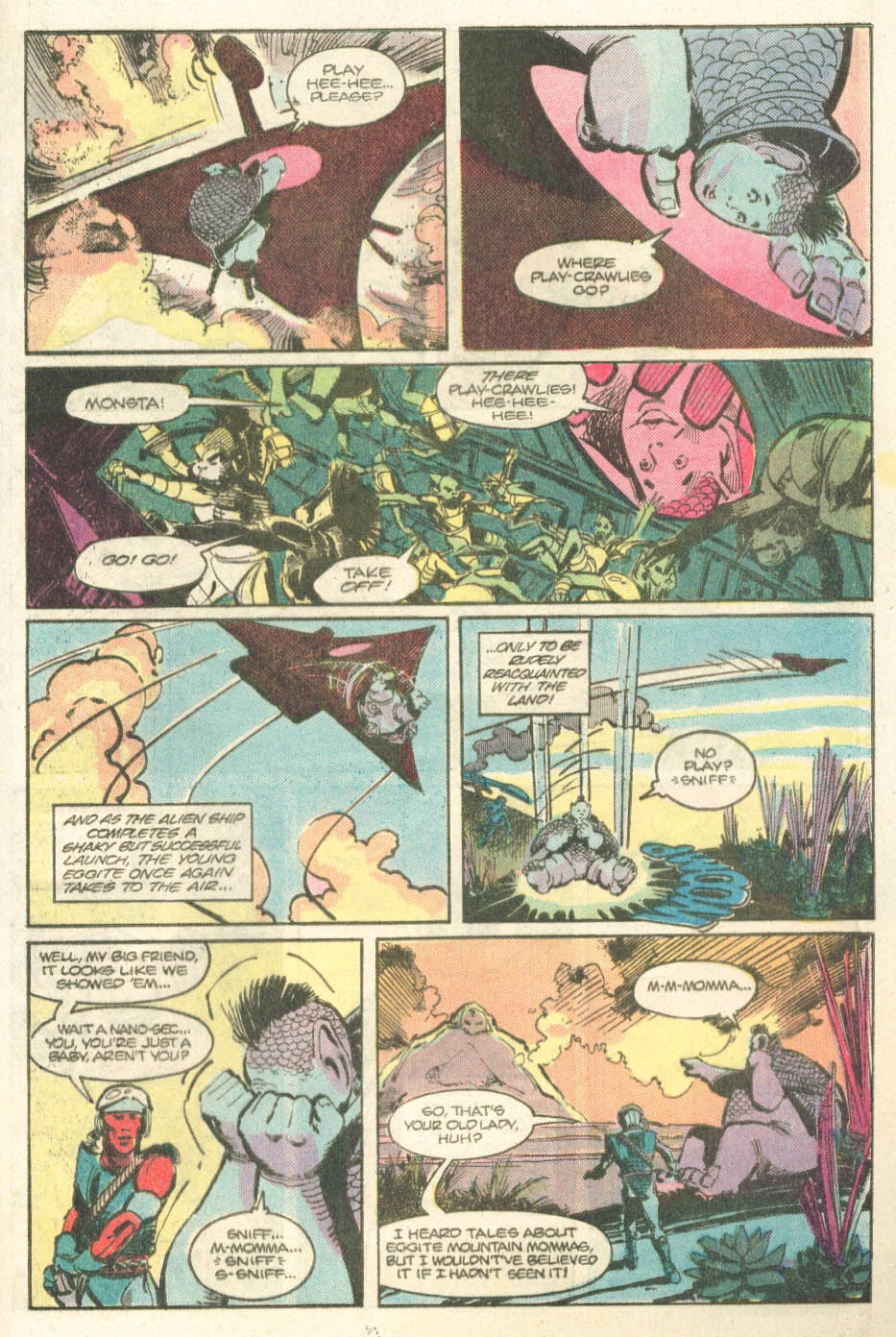 Read online Atari Force (1984) comic -  Issue #14 - 27