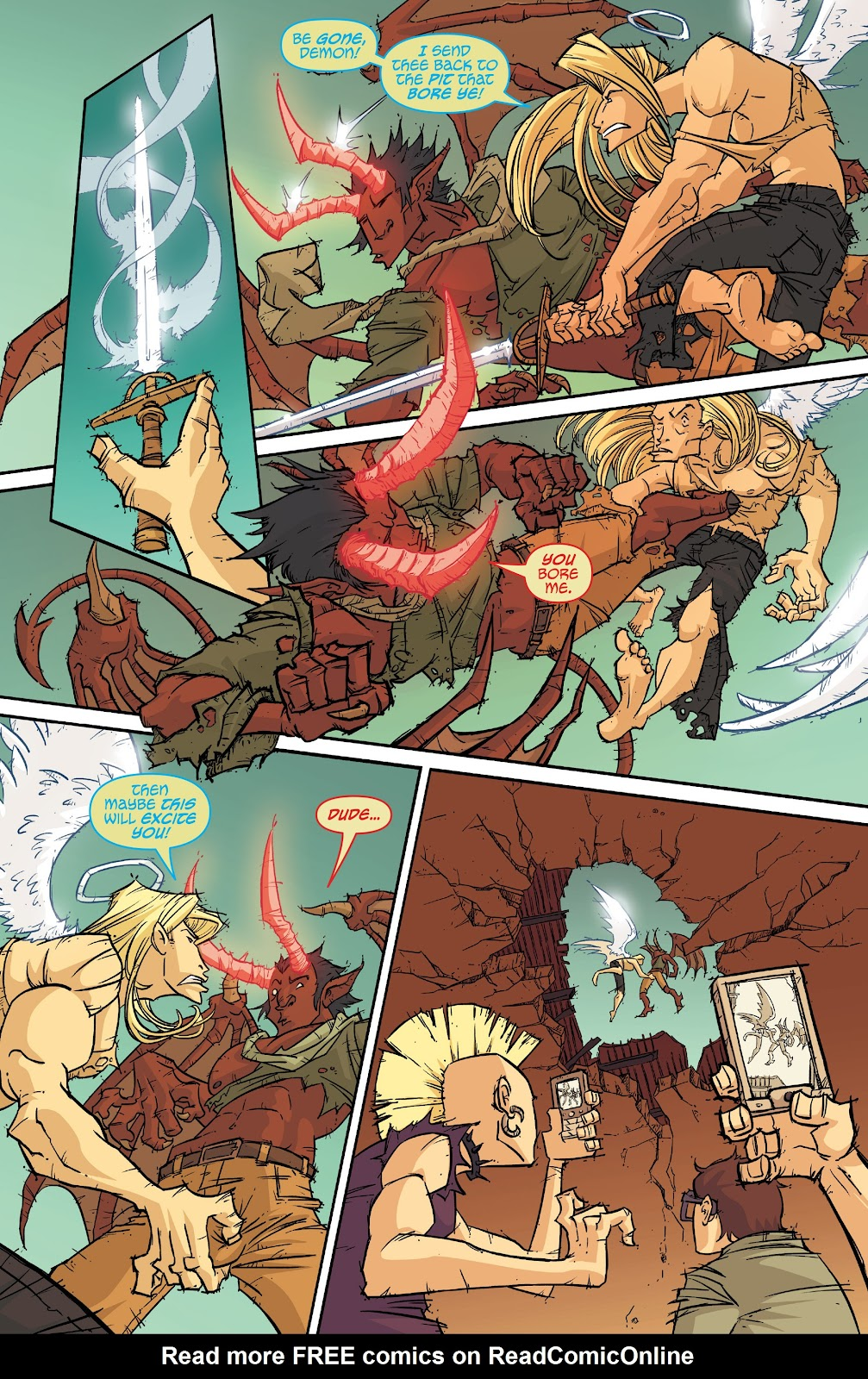 Read online The End Times of Bram and Ben comic -  Issue #2 - 16