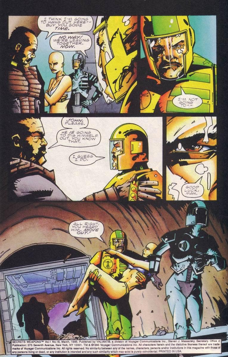 Read online Secret Weapons comic -  Issue #18 - 5