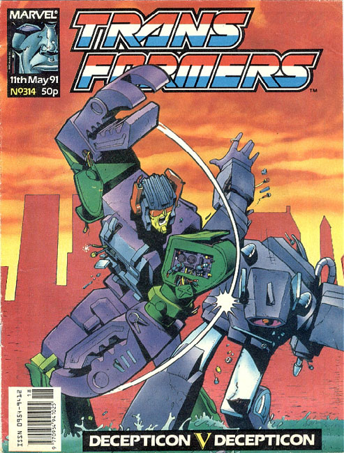 The Transformers (UK) 314 Page 1