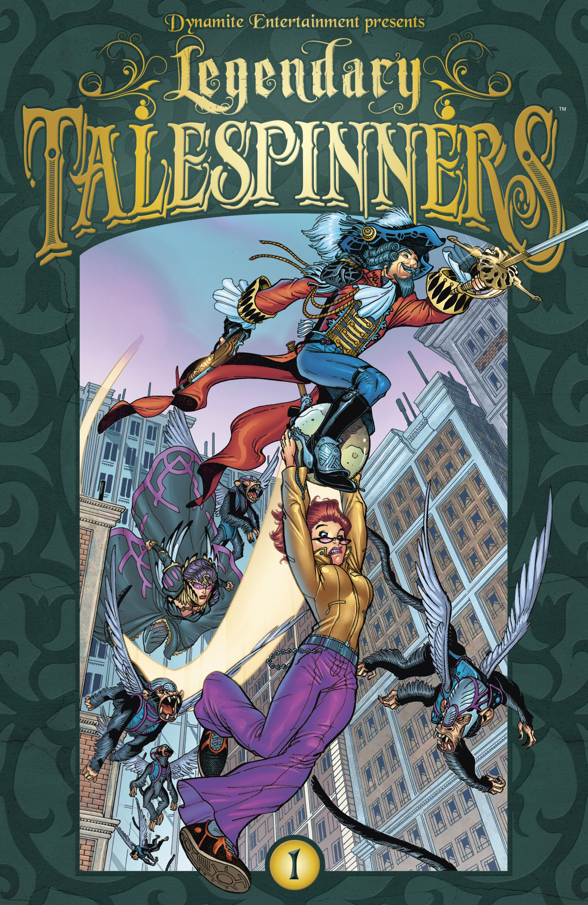 Read online Legendary Talespinners comic -  Issue #1 - 1