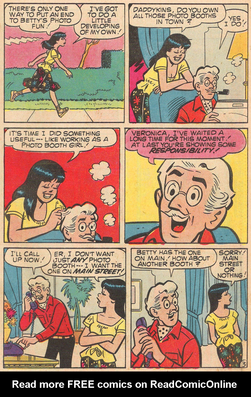 Read online Archie's Girls Betty and Veronica comic -  Issue #264 - 31