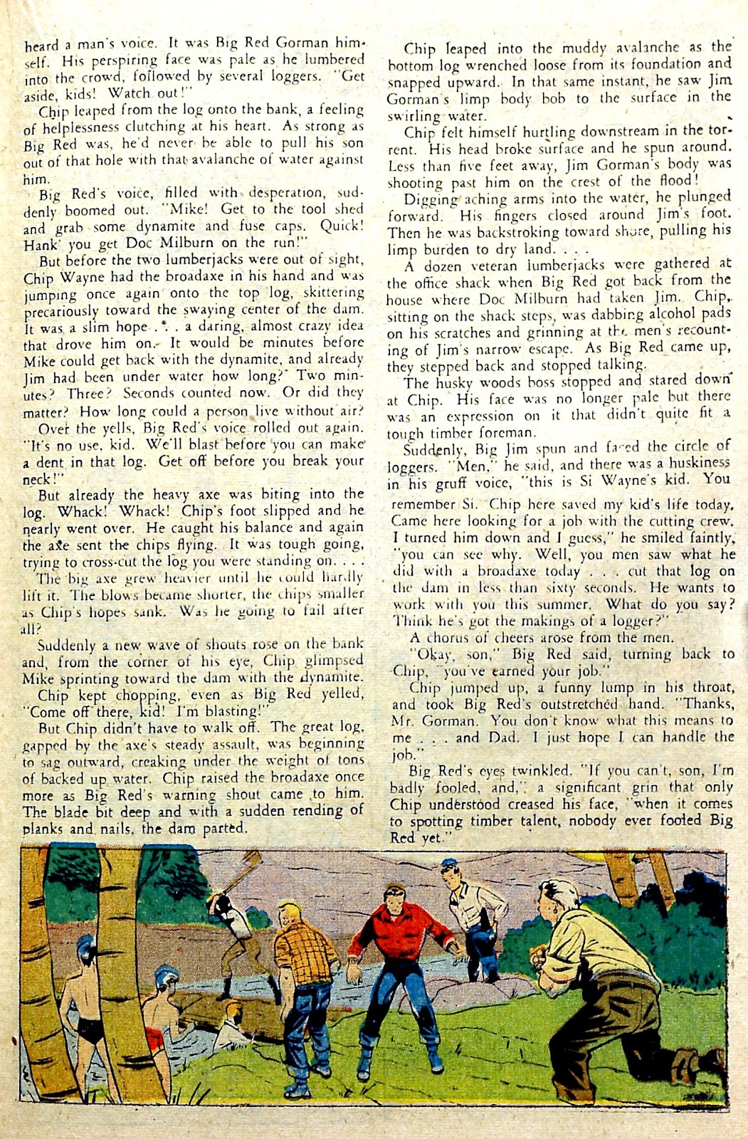 Read online Famous Funnies comic -  Issue #187 - 29