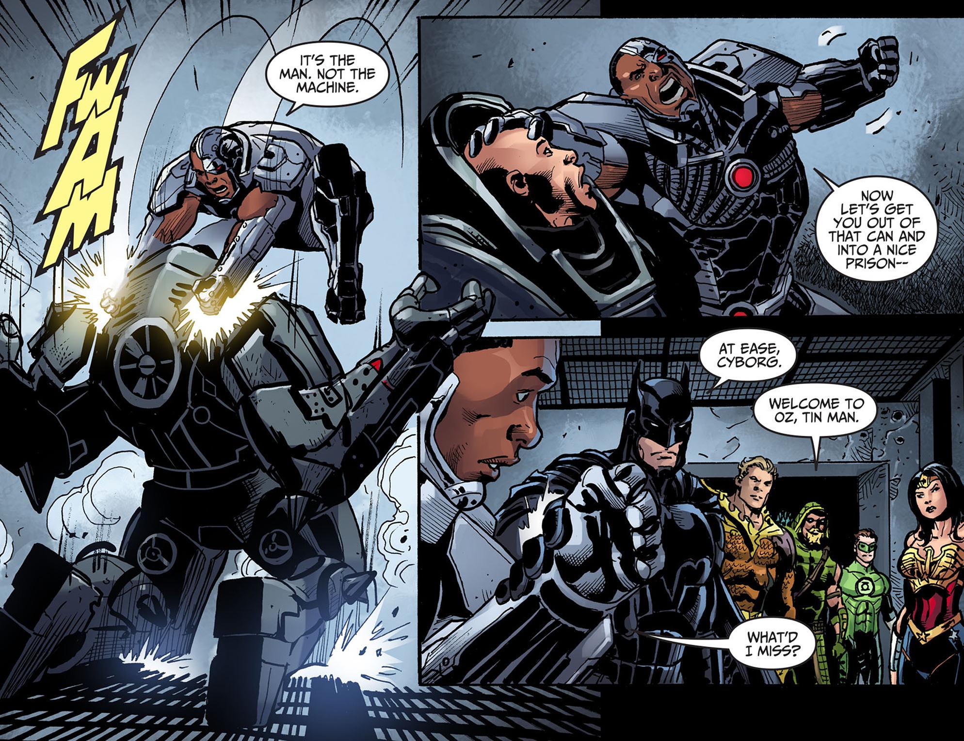 Read online Injustice: Ground Zero comic -  Issue #13 - 15