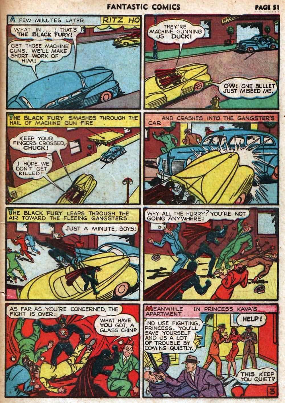 Read online Fantastic Comics comic -  Issue #18 - 53