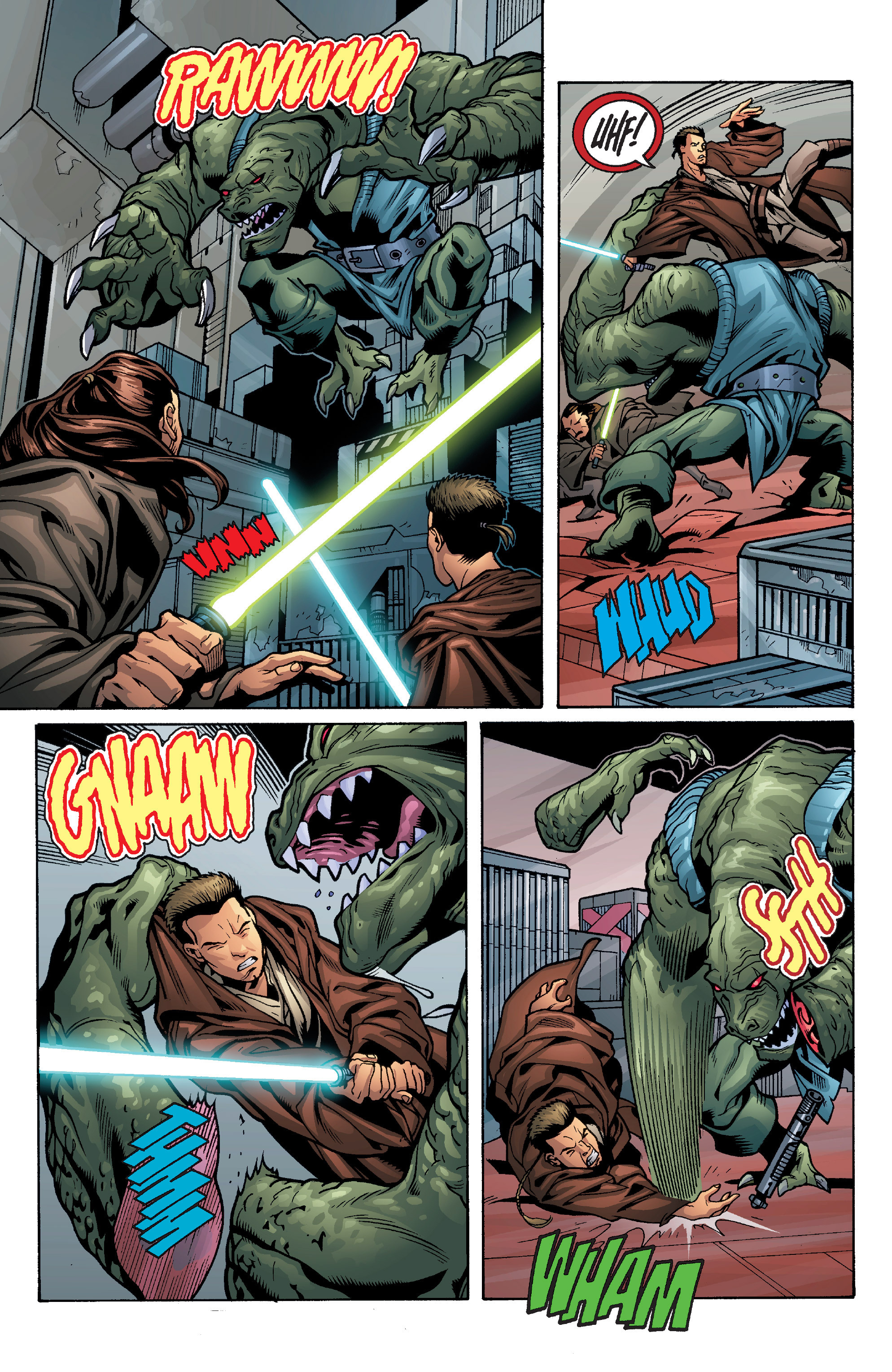 Read online Star Wars: Qui-Gon & Obi-Wan - Last Stand on Ord Mantell comic -  Issue #1 - 18
