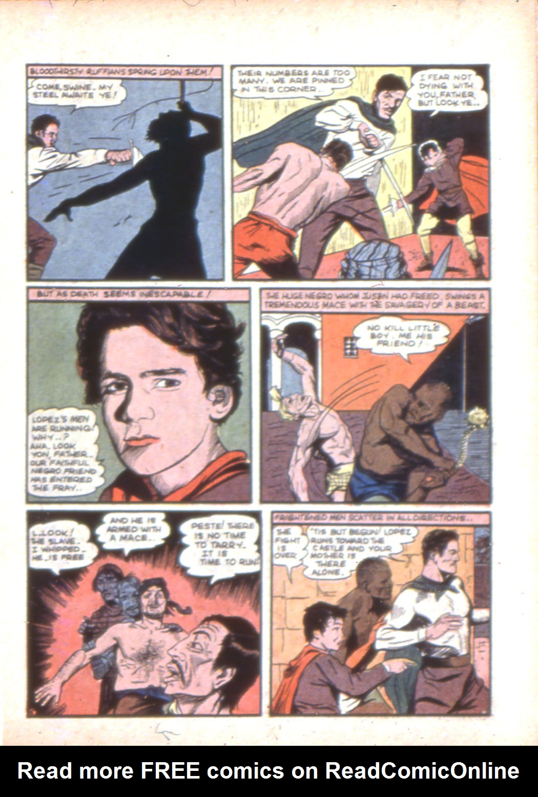 Read online Sensation (Mystery) Comics comic -  Issue #7 - 21