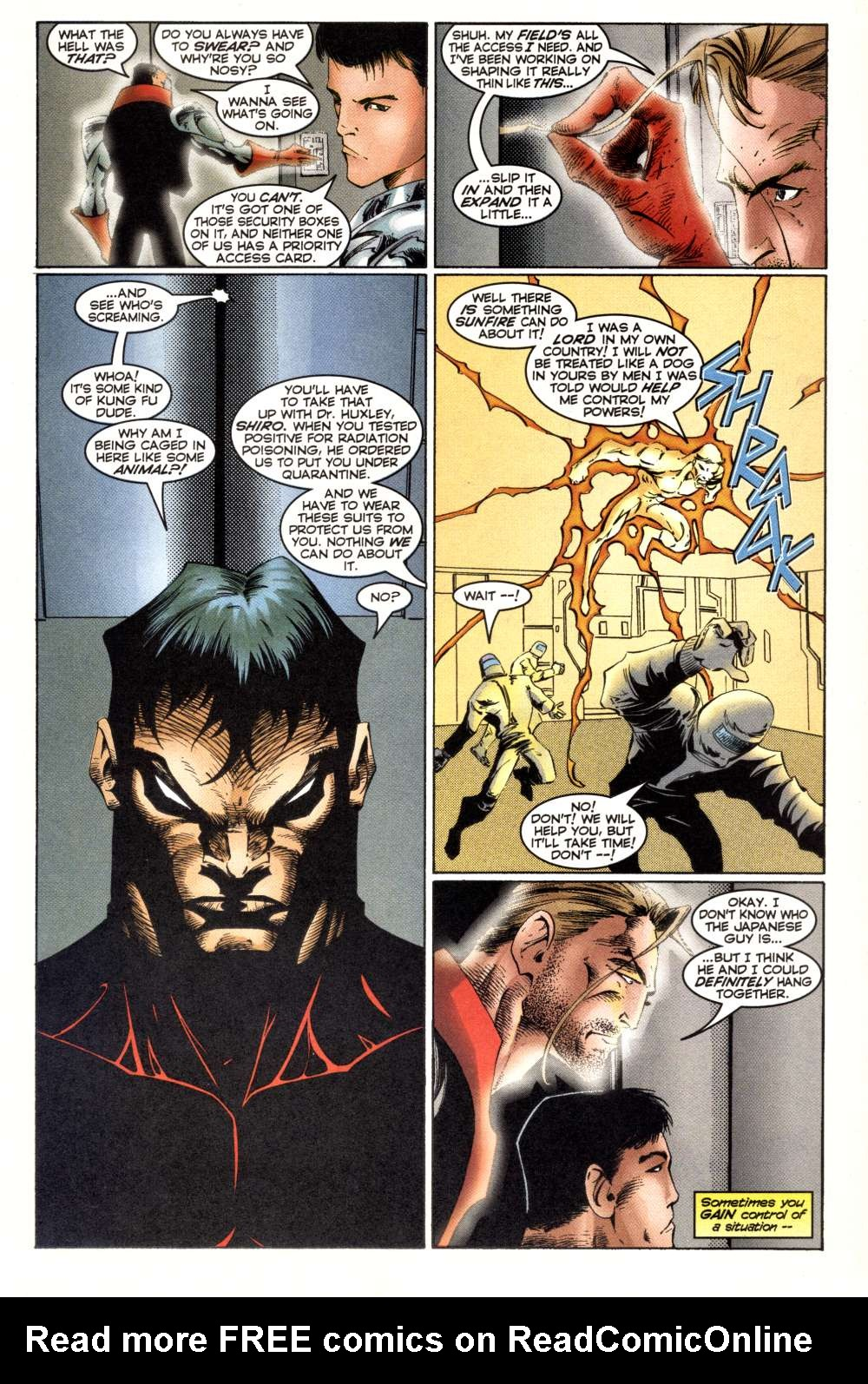 Read online Alpha Flight (1997) comic -  Issue #3 - 12