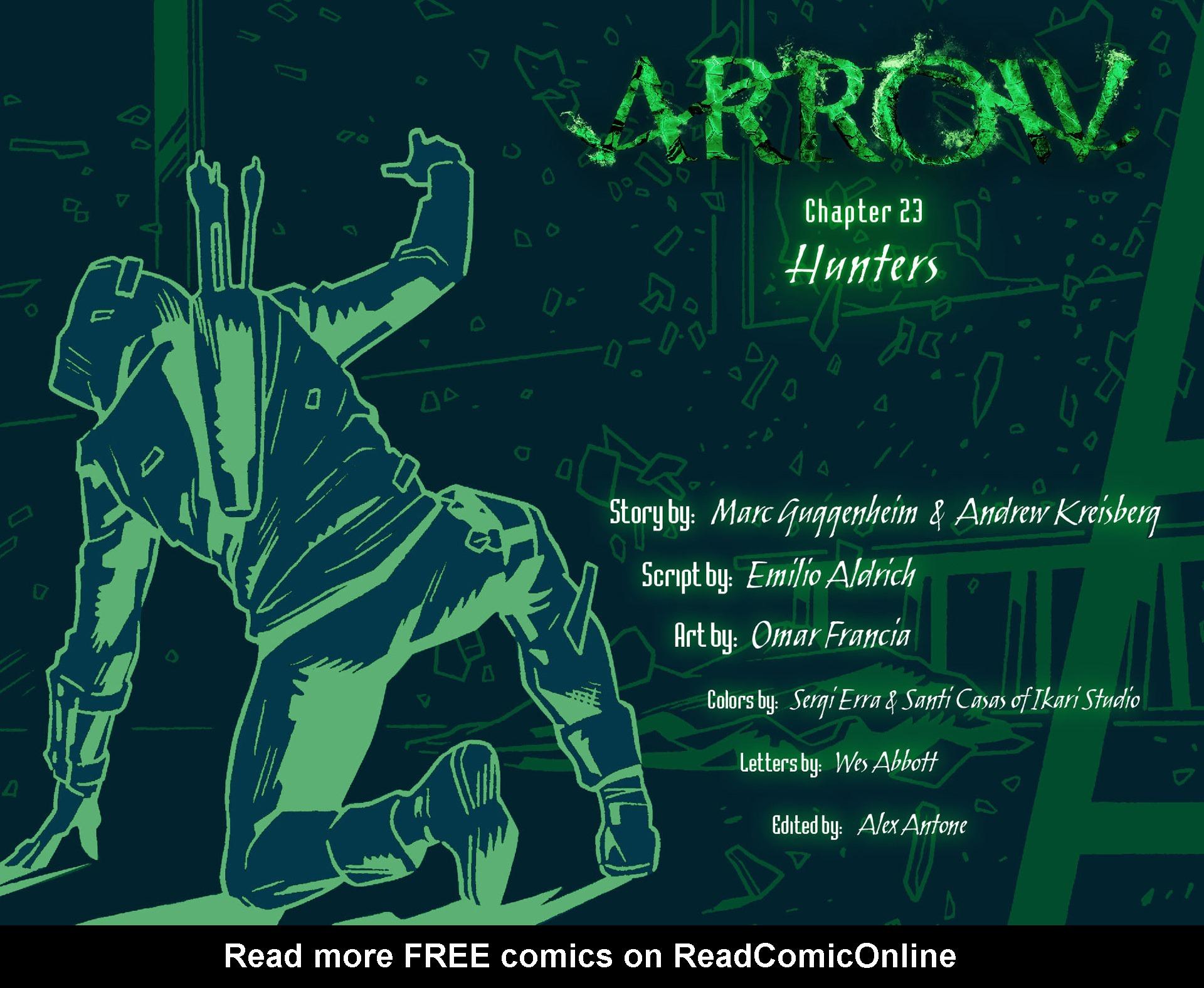 Read online Arrow [II] comic -  Issue #23 - 2