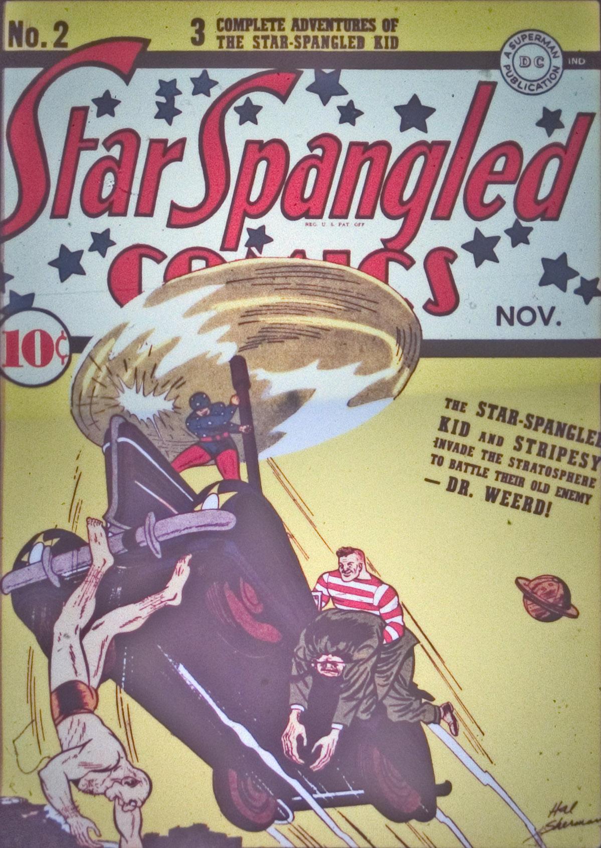 Star Spangled Comics (1941) 2 Page 1