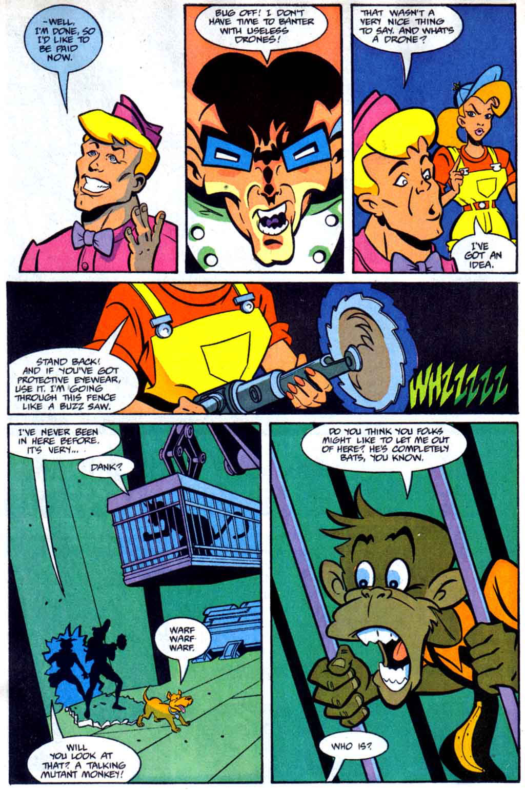 Read online Defenders of Dynatron City comic -  Issue #2 - 7