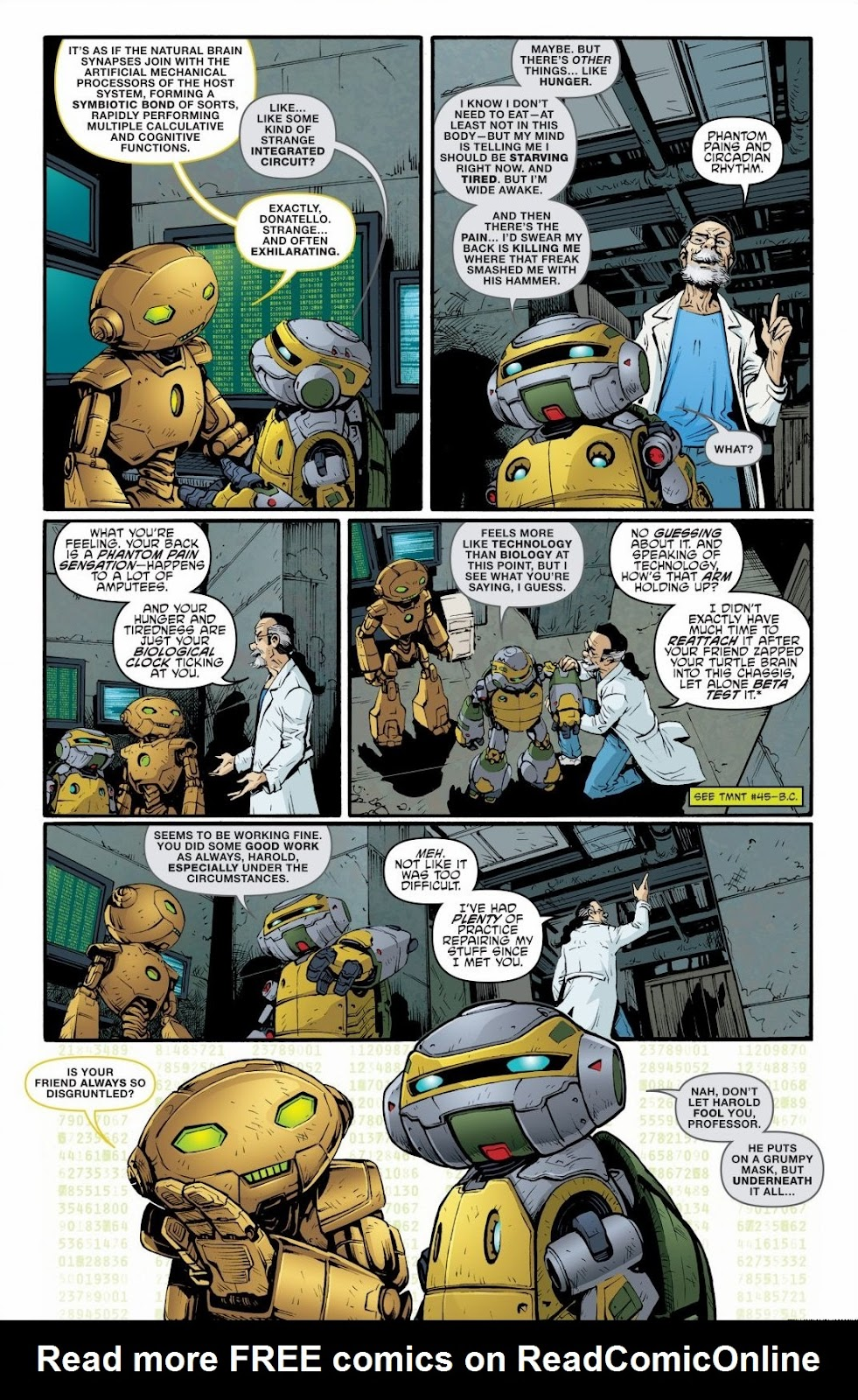 Read online Teenage Mutant Ninja Turtles: The IDW Collection comic -  Issue # TPB 6 (Part 2) - 37