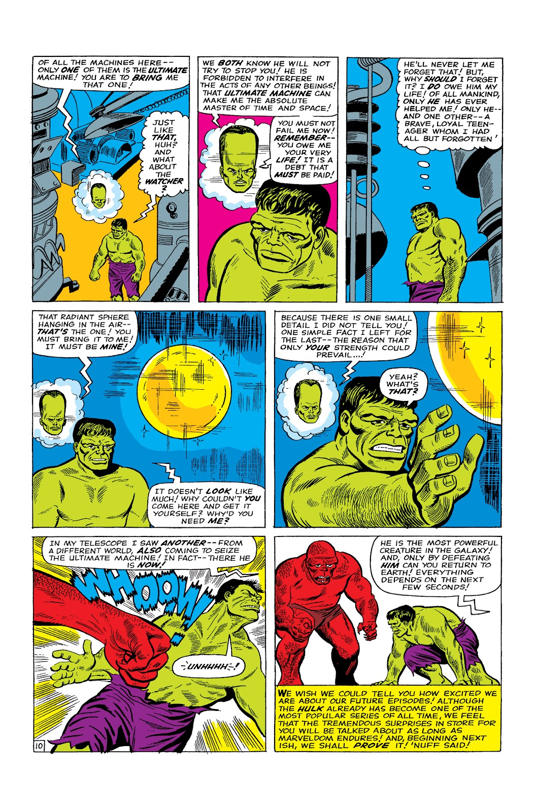 Read online Marvel Masterworks: The Incredible Hulk comic -  Issue # TPB 2 (Part 2) - 77