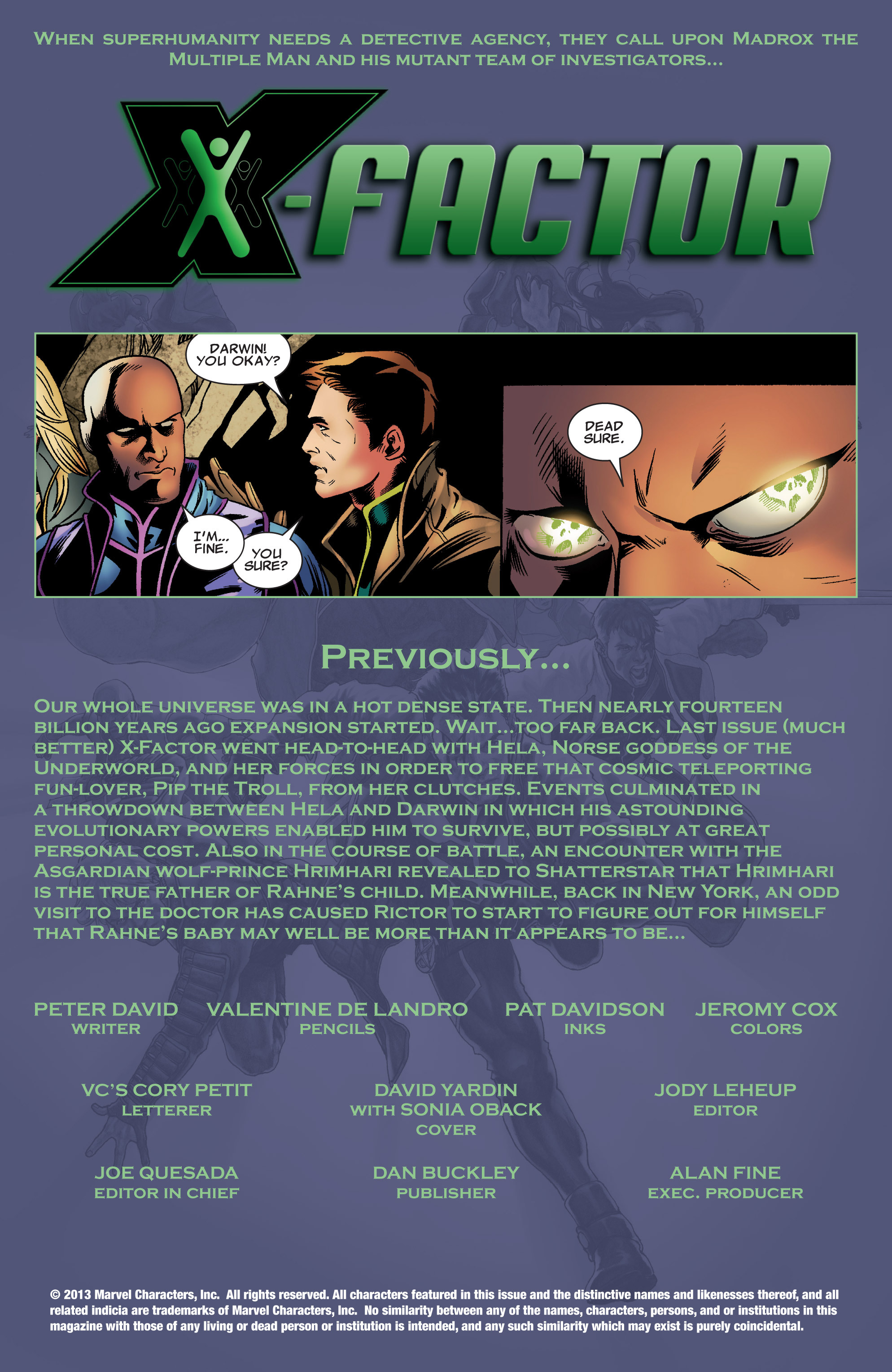 Read online X-Factor (1986) comic -  Issue #213 - 2