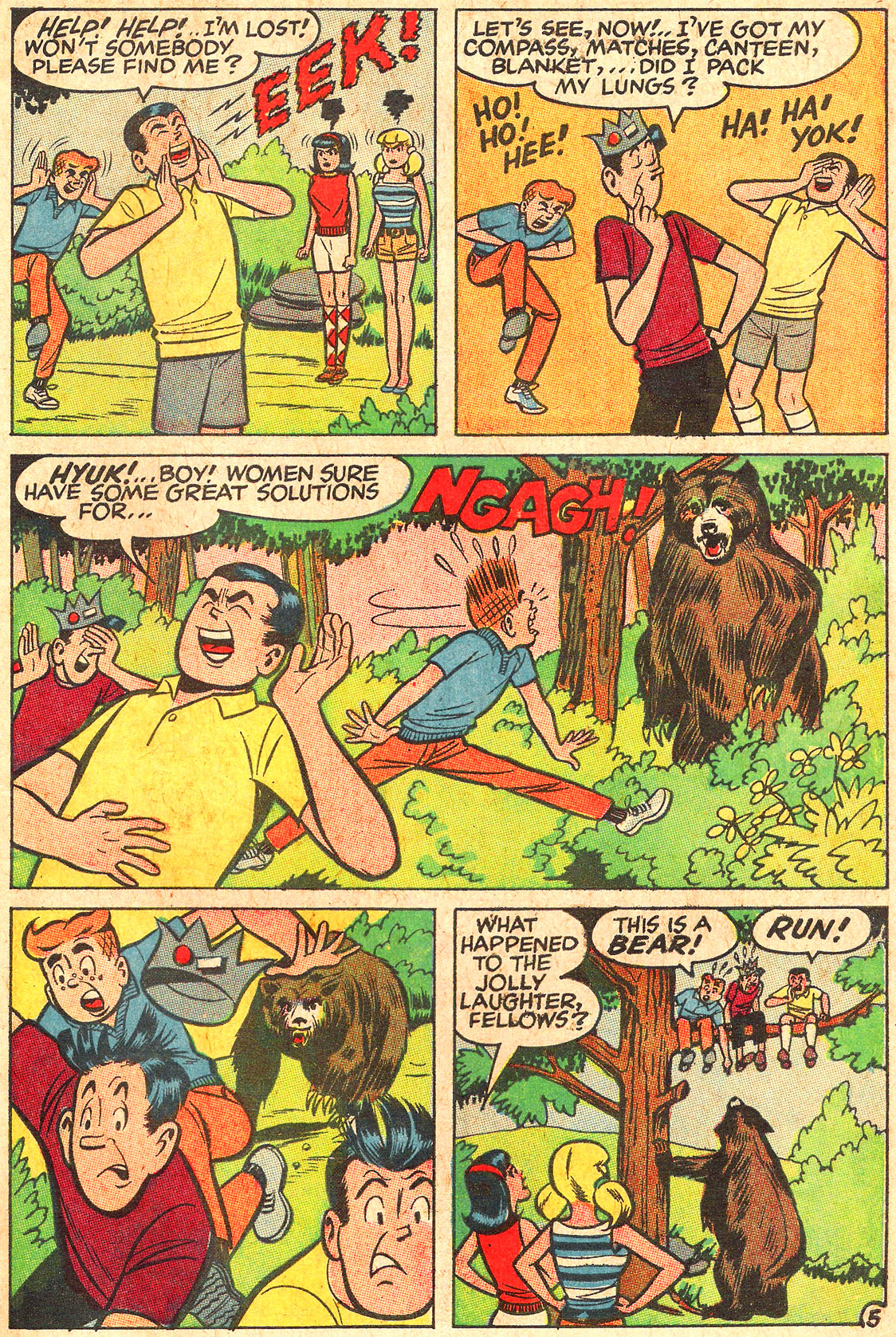 Read online Archie (1960) comic -  Issue #176 - 7