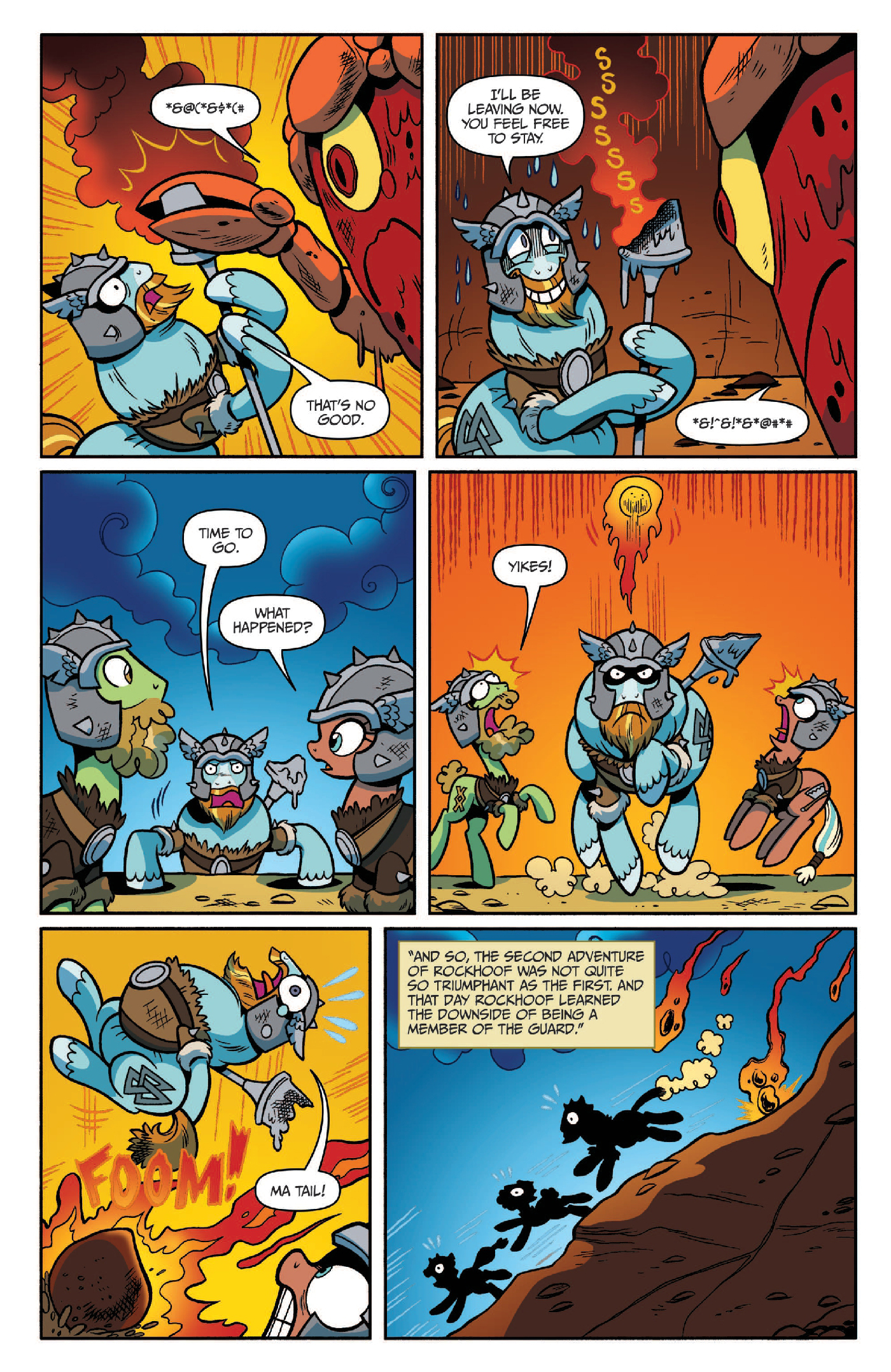 Read online My Little Pony: Legends of Magic comic -  Issue #2 - 17