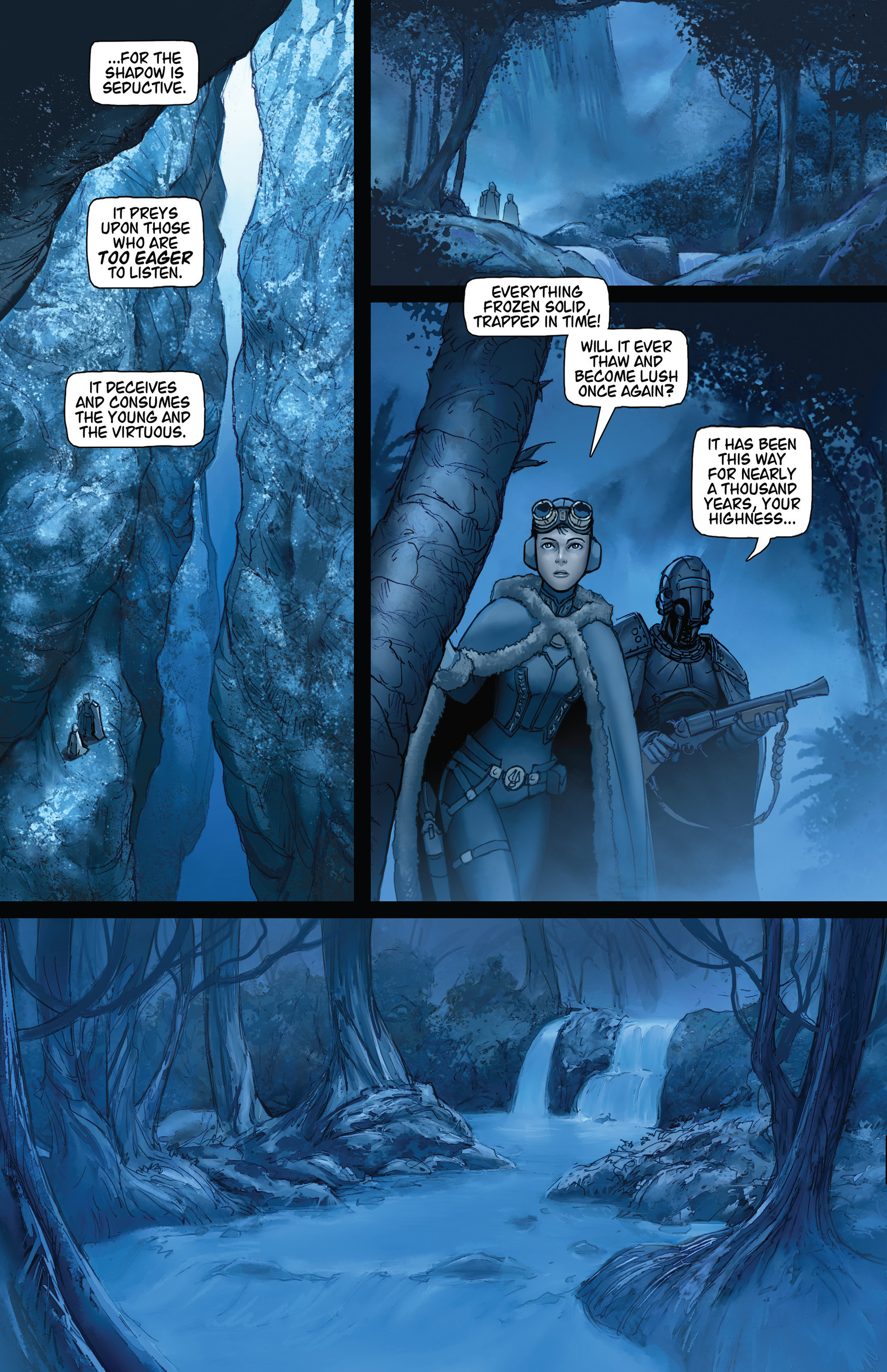 Read online Steam Wars: First Empire comic -  Issue #4 - 10