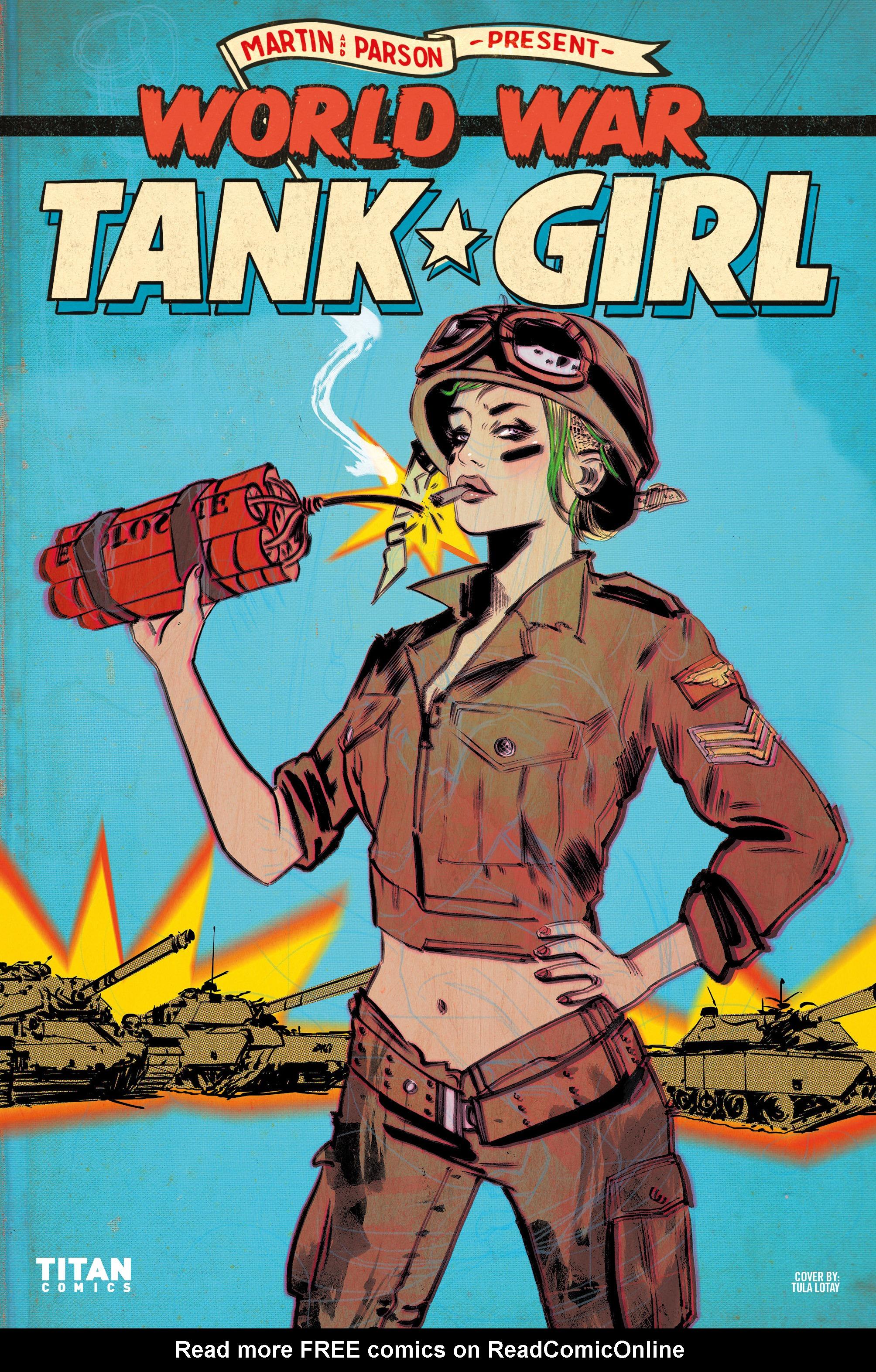 Read online Tank Girl: World War Tank Girl comic -  Issue #2 - 27