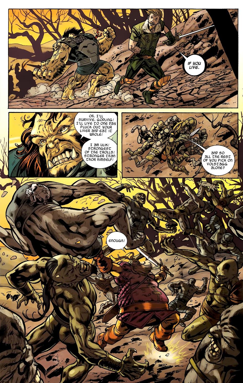 Warriors Three Issue #2 #2 - English 5