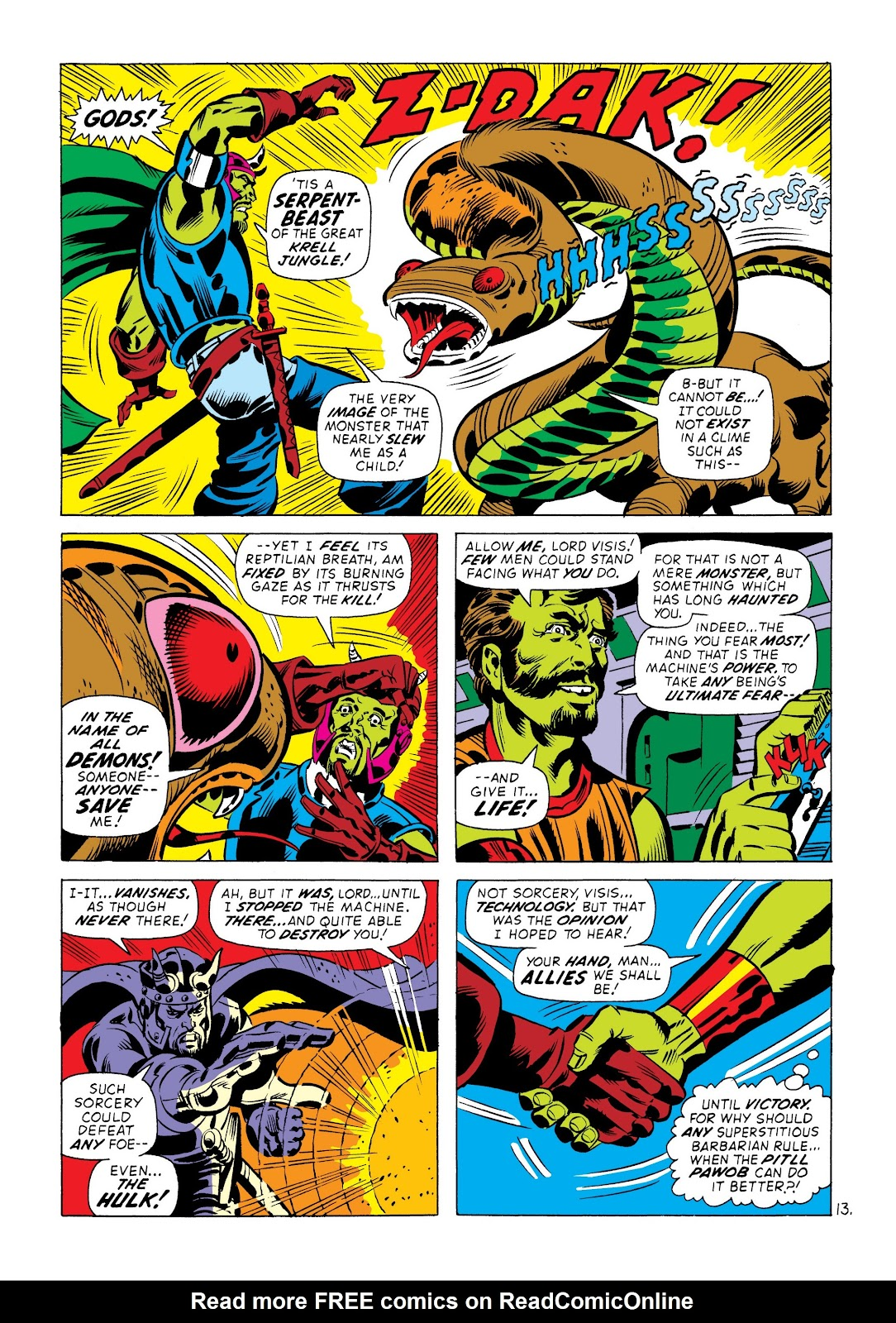 Read online Marvel Masterworks: The Incredible Hulk comic -  Issue # TPB 8 (Part 3) - 74