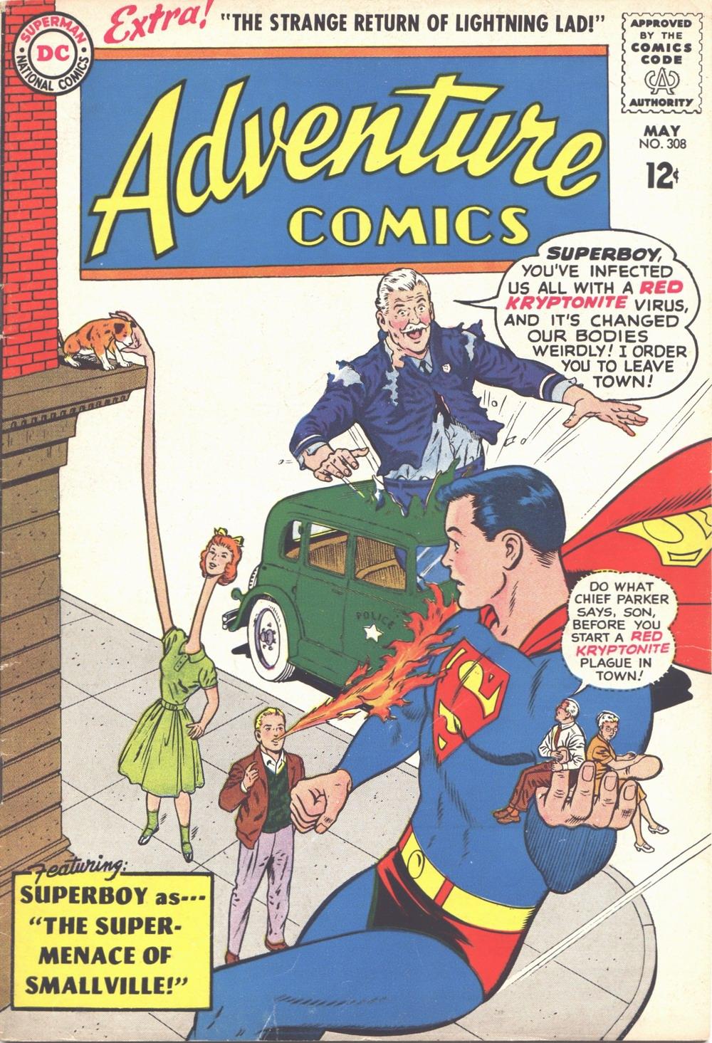 Adventure Comics (1938) 308 Page 1