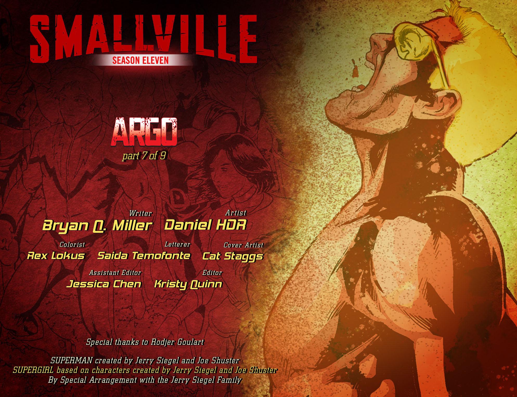 Read online Smallville: Season 11 comic -  Issue #51 - 2
