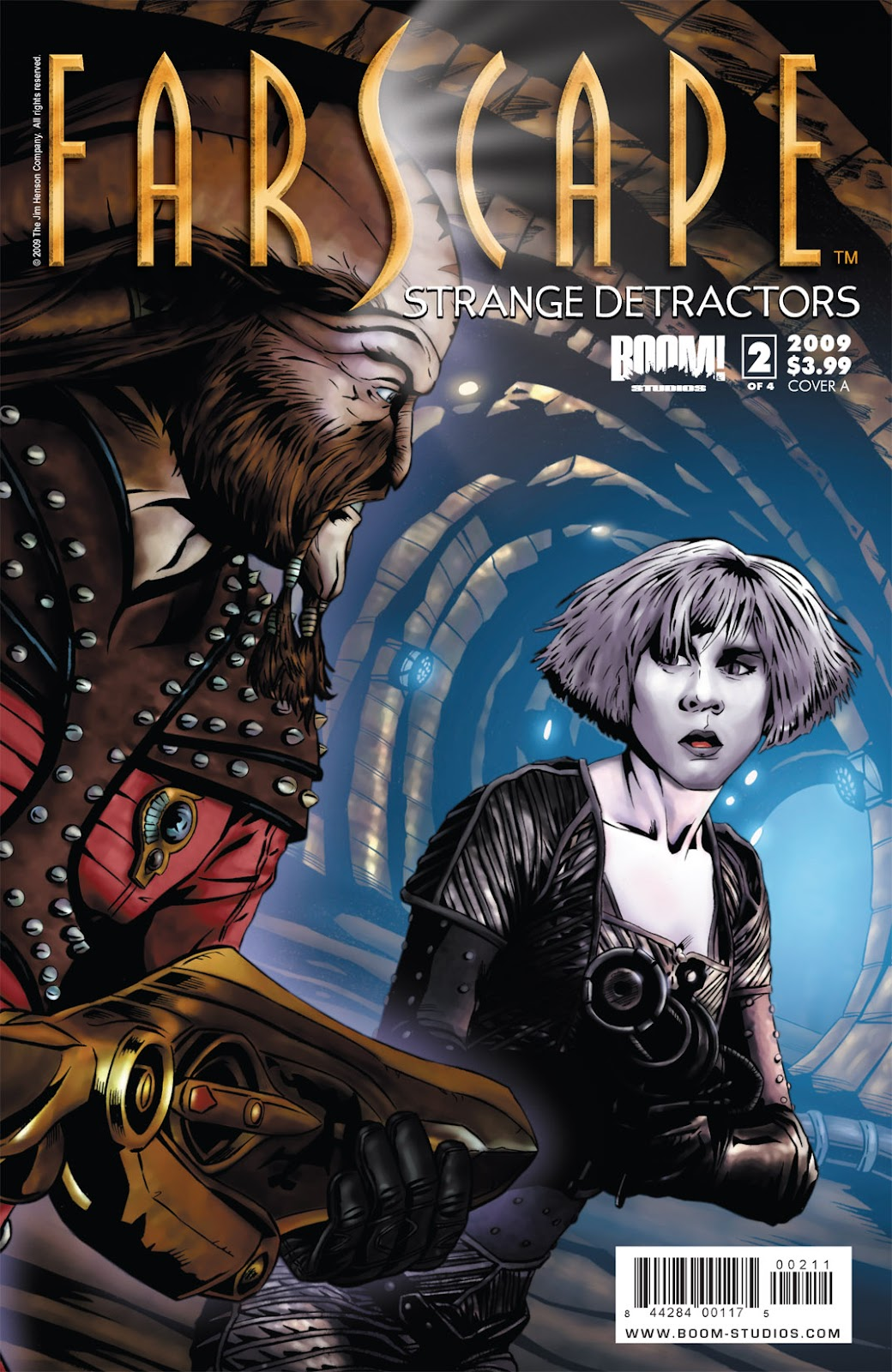 Farscape: Strange Detractors issue 2 - Page 1