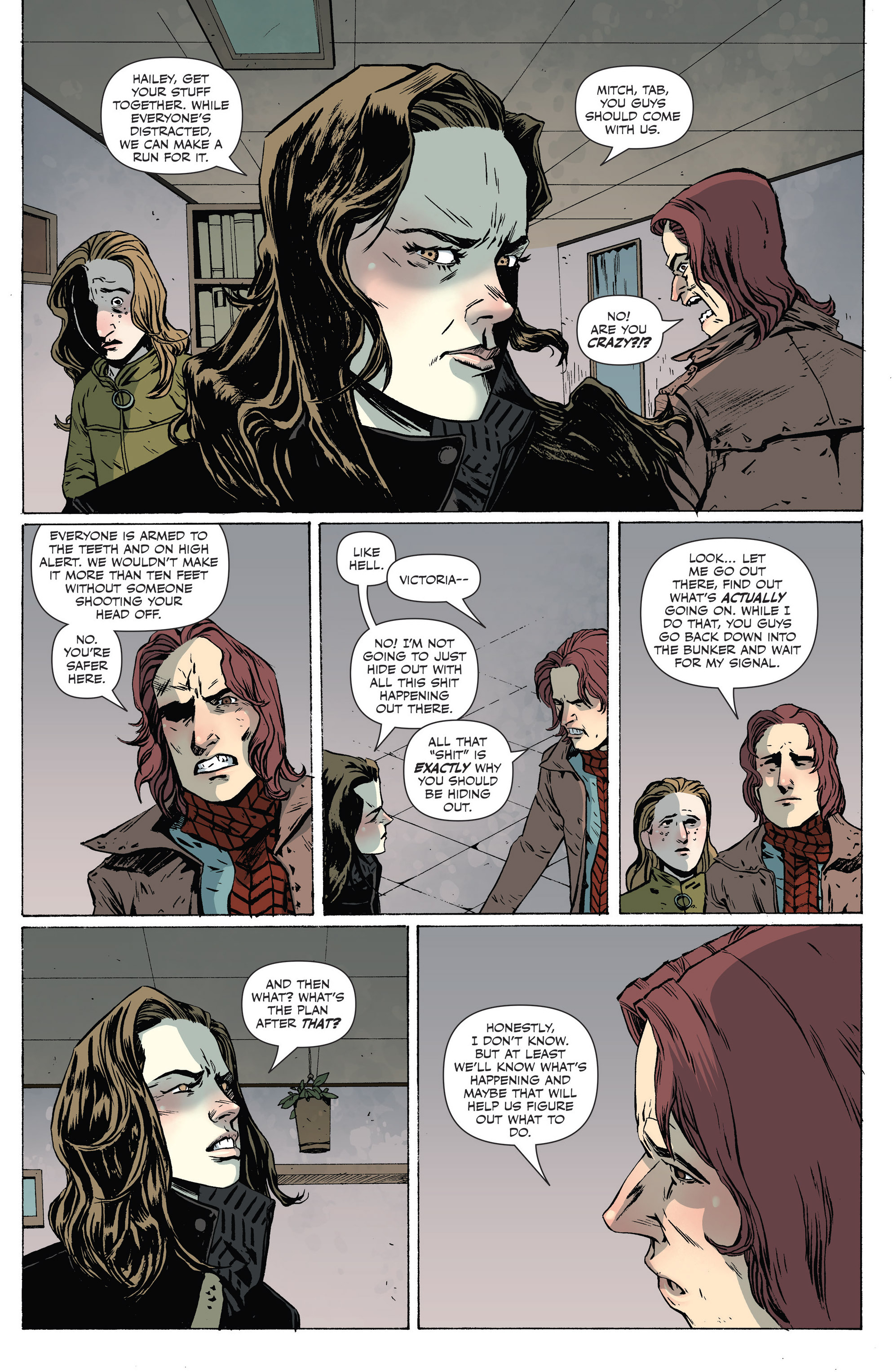Read online Sheltered comic -  Issue #7 - 14