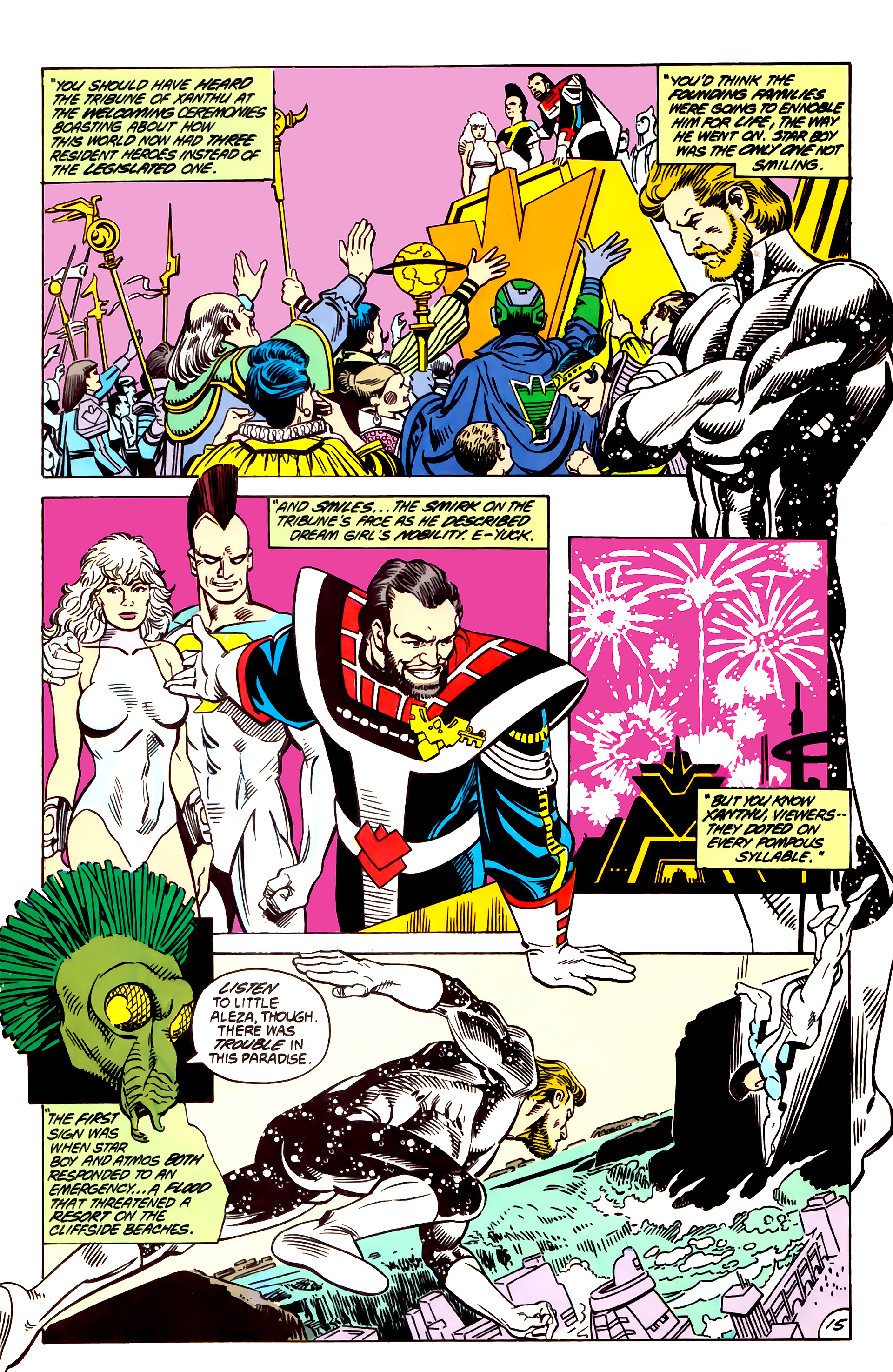 Legion of Super-Heroes (1984) 55 Page 15