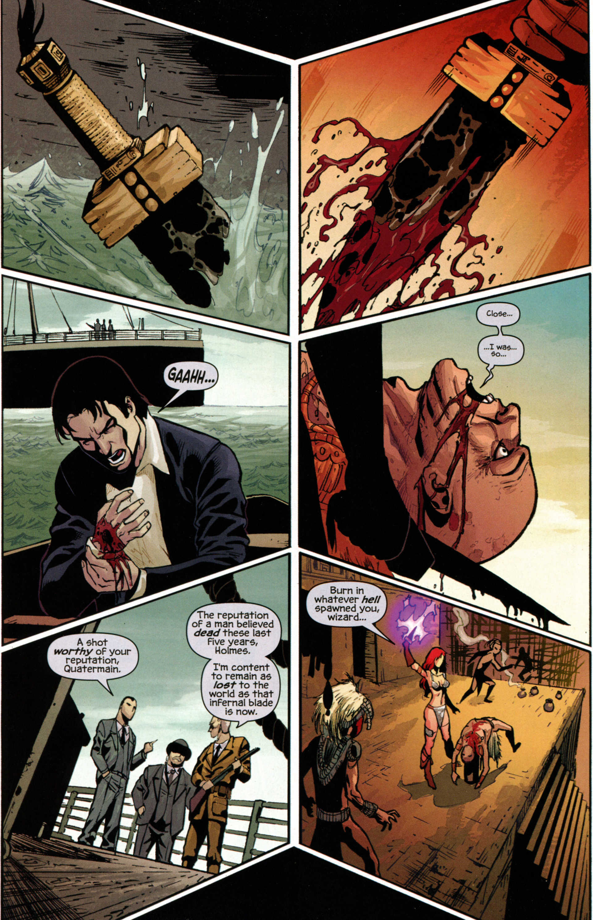 Read online Prophecy comic -  Issue #7 - 14