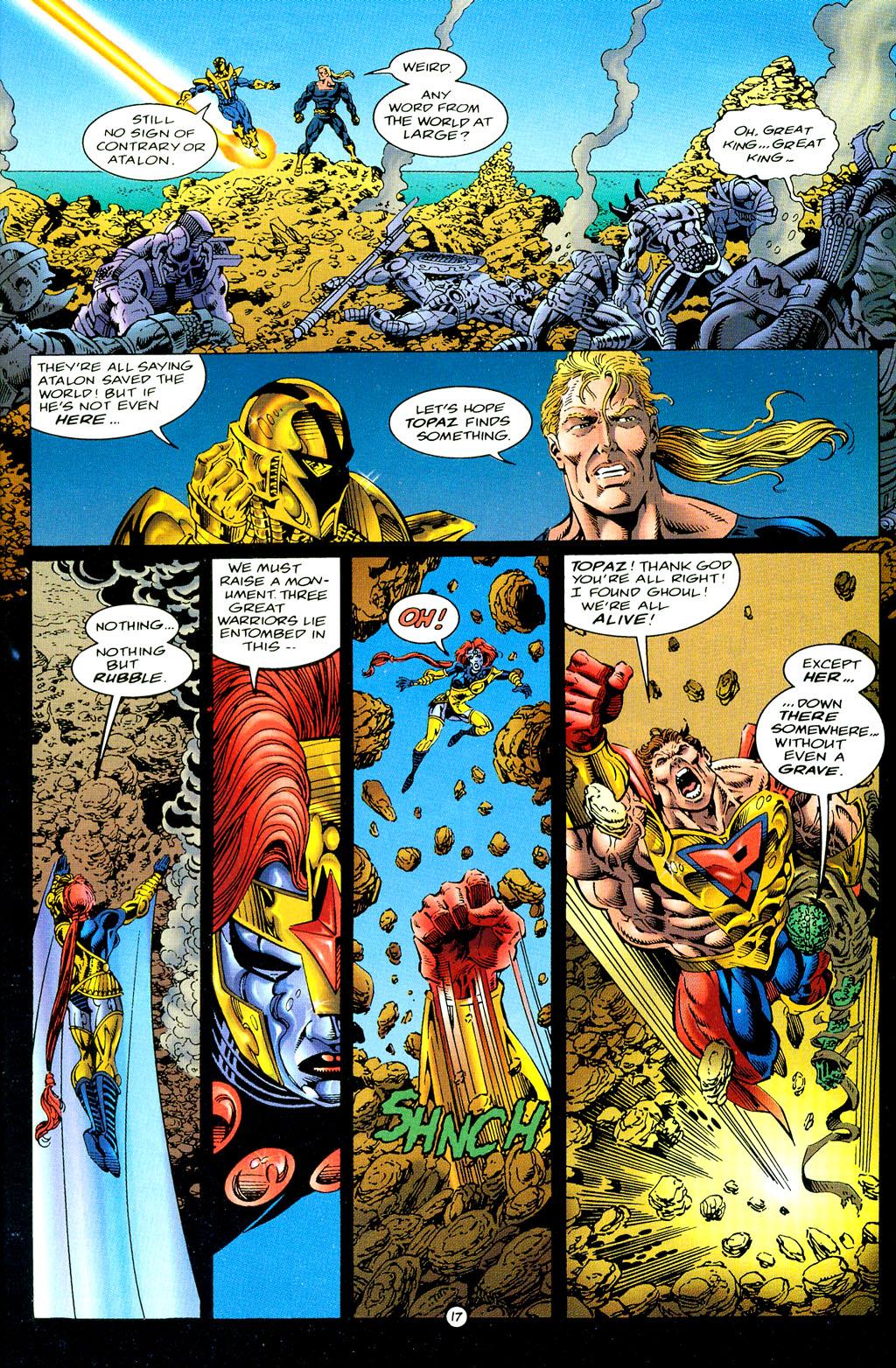 Read online UltraForce (1994) comic -  Issue #6 - 17