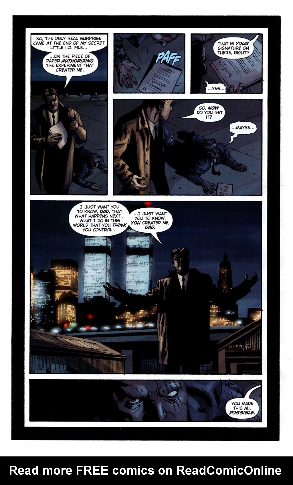 Read online Sleeper: Season Two comic -  Issue #5 - 21