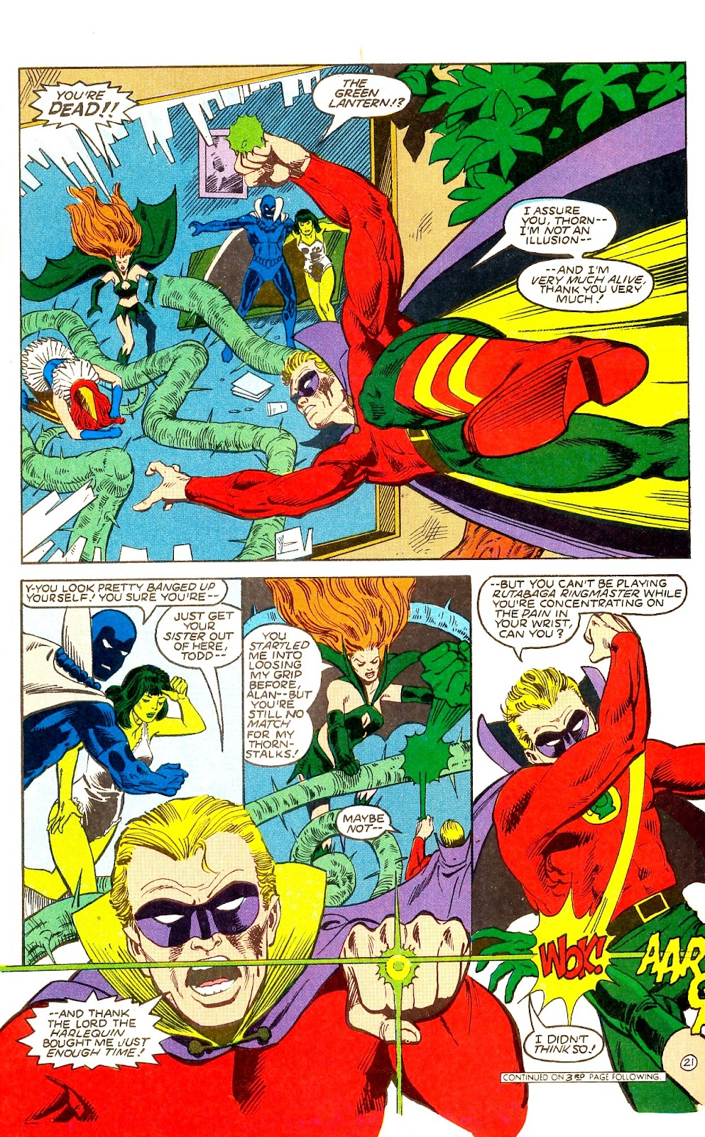 Infinity Inc. (1984) issue Annual 1 - Page 24