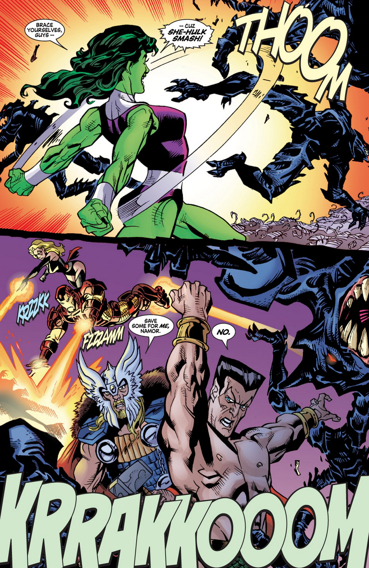 Read online Avengers (1998) comic -  Issue #60 - 15
