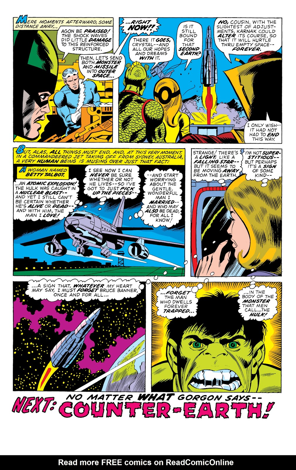 Read online Marvel Masterworks: The Incredible Hulk comic -  Issue # TPB 10 (Part 2) - 7