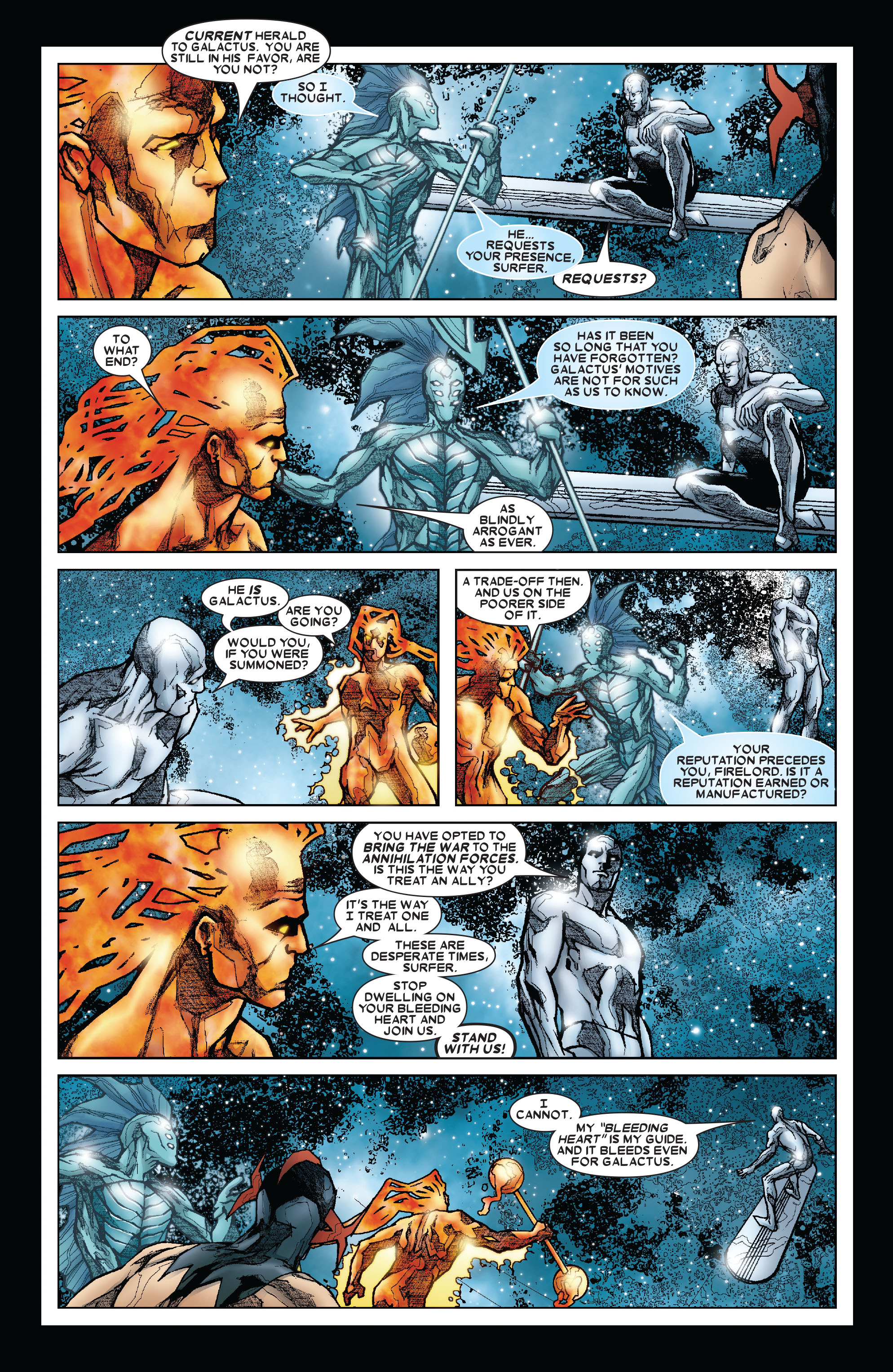 Read online Annihilation: Silver Surfer comic -  Issue #3 - 9