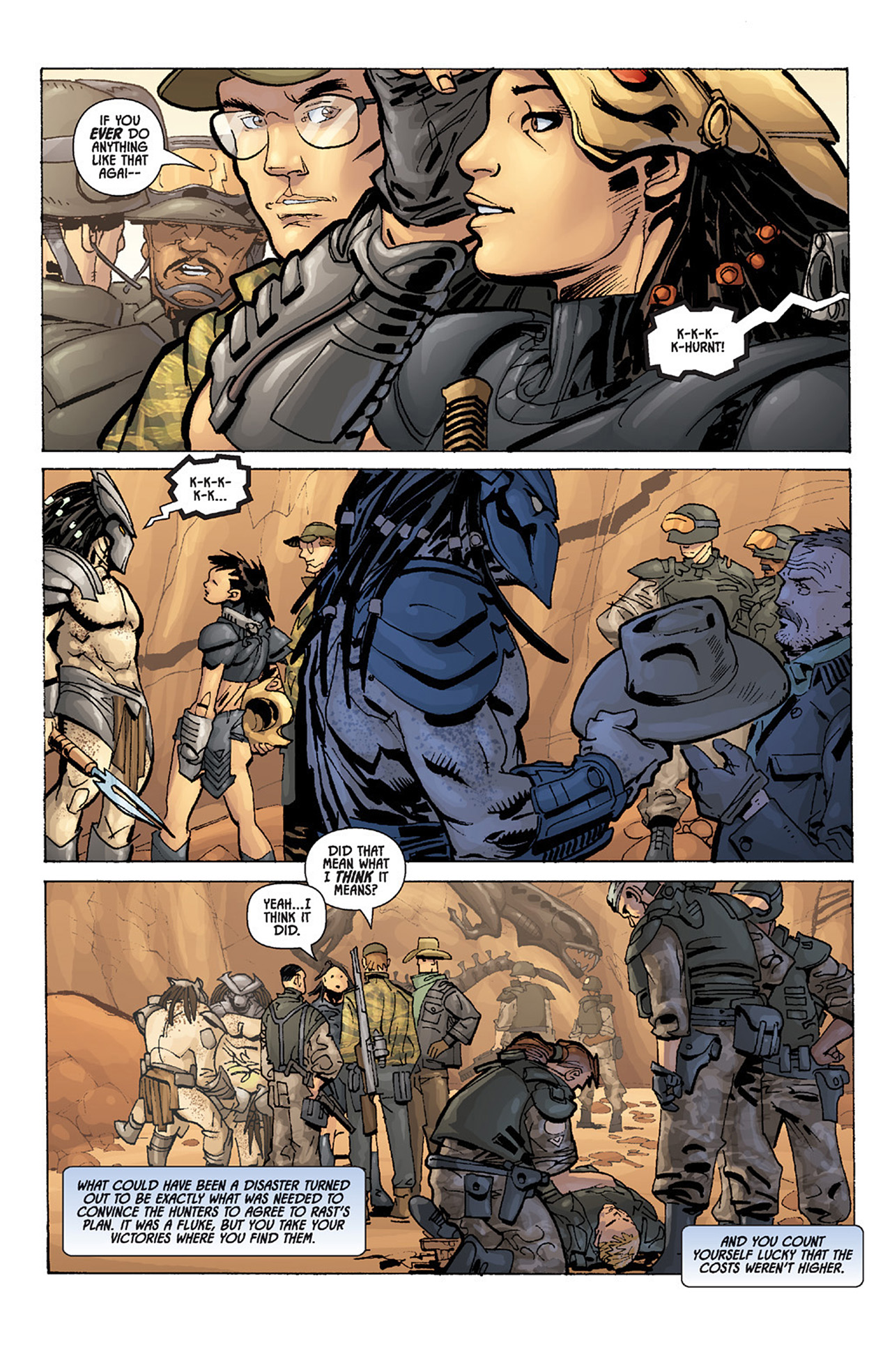 Read online Aliens vs. Predator: Three World War comic -  Issue #3 - 22